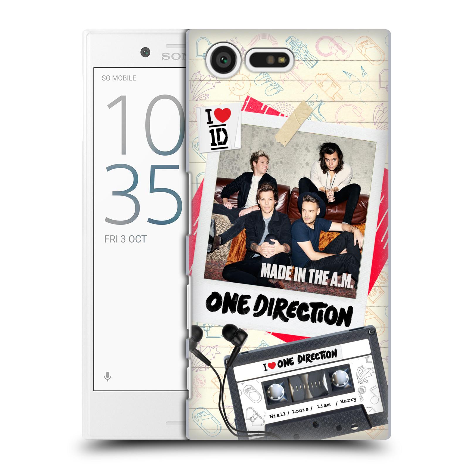 Plastové pouzdro na mobil Sony Xperia X Compact HEAD CASE One Direction - Kazeta (Plastový kryt či obal One Direction Official na mobilní telefon Sony Xperia X Compact F5321)