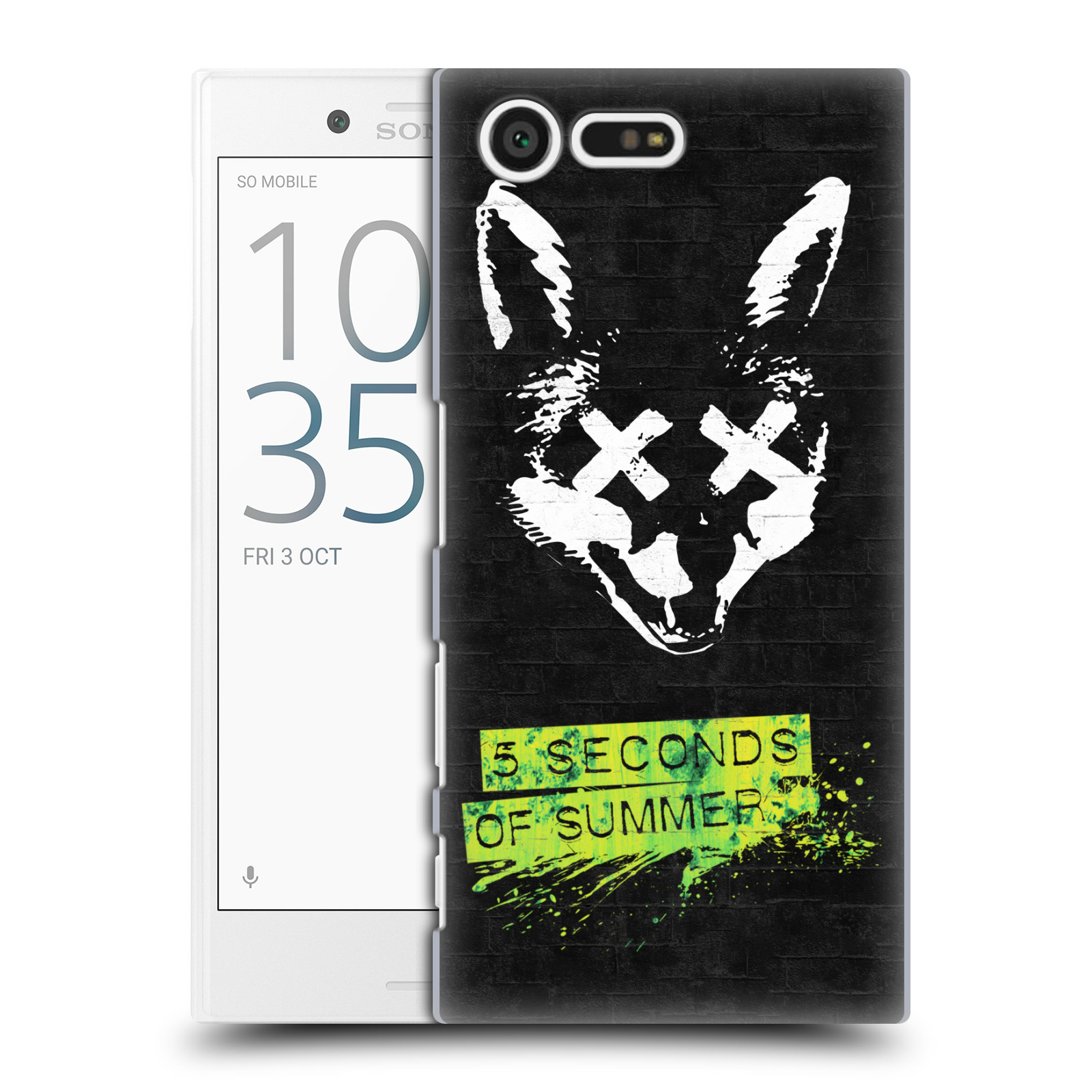 Plastové pouzdro na mobil Sony Xperia X Compact HEAD CASE 5 Seconds of Summer - Fox