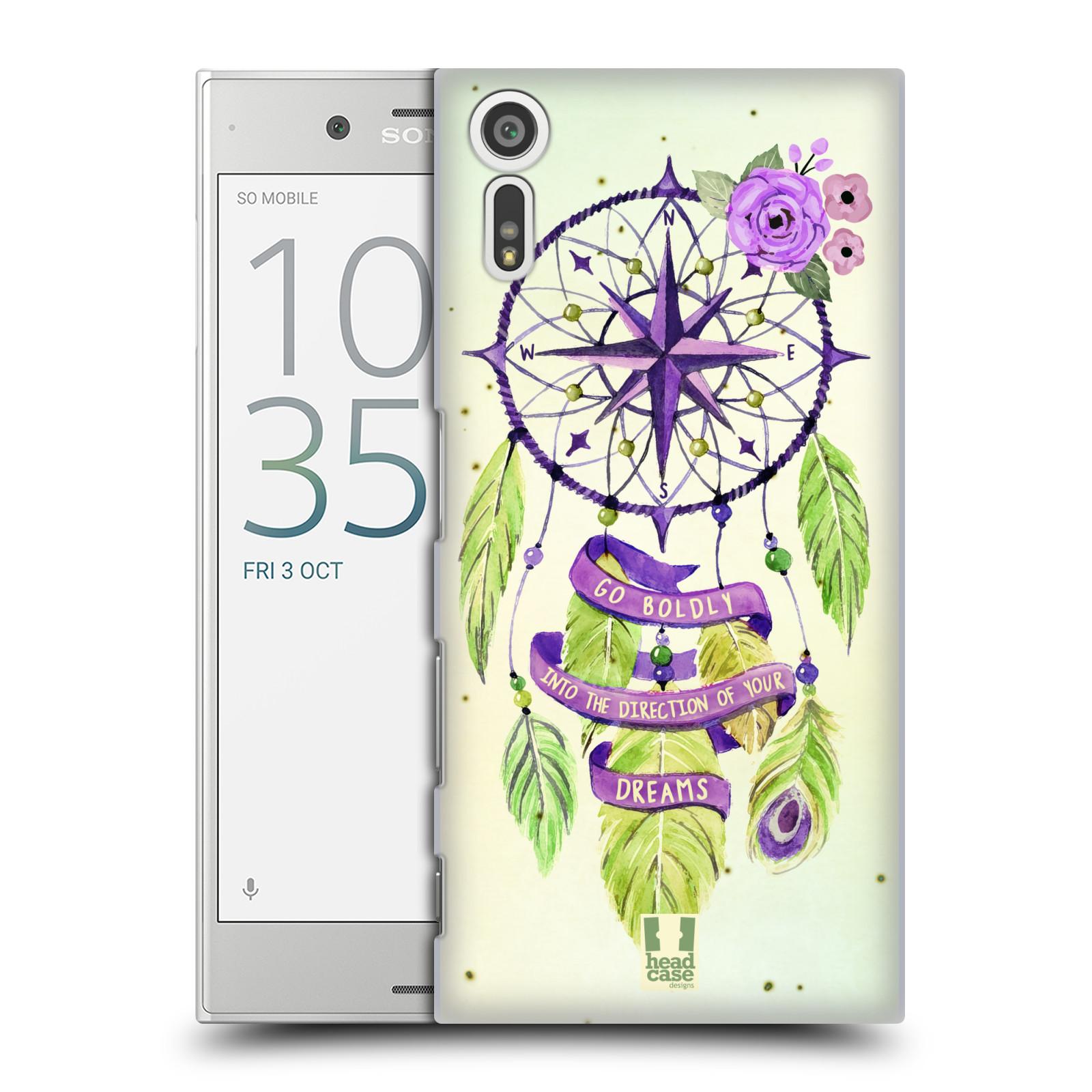 Plastové pouzdro na mobil Sony Xperia XZ - Head Case Lapač Assorted Compass