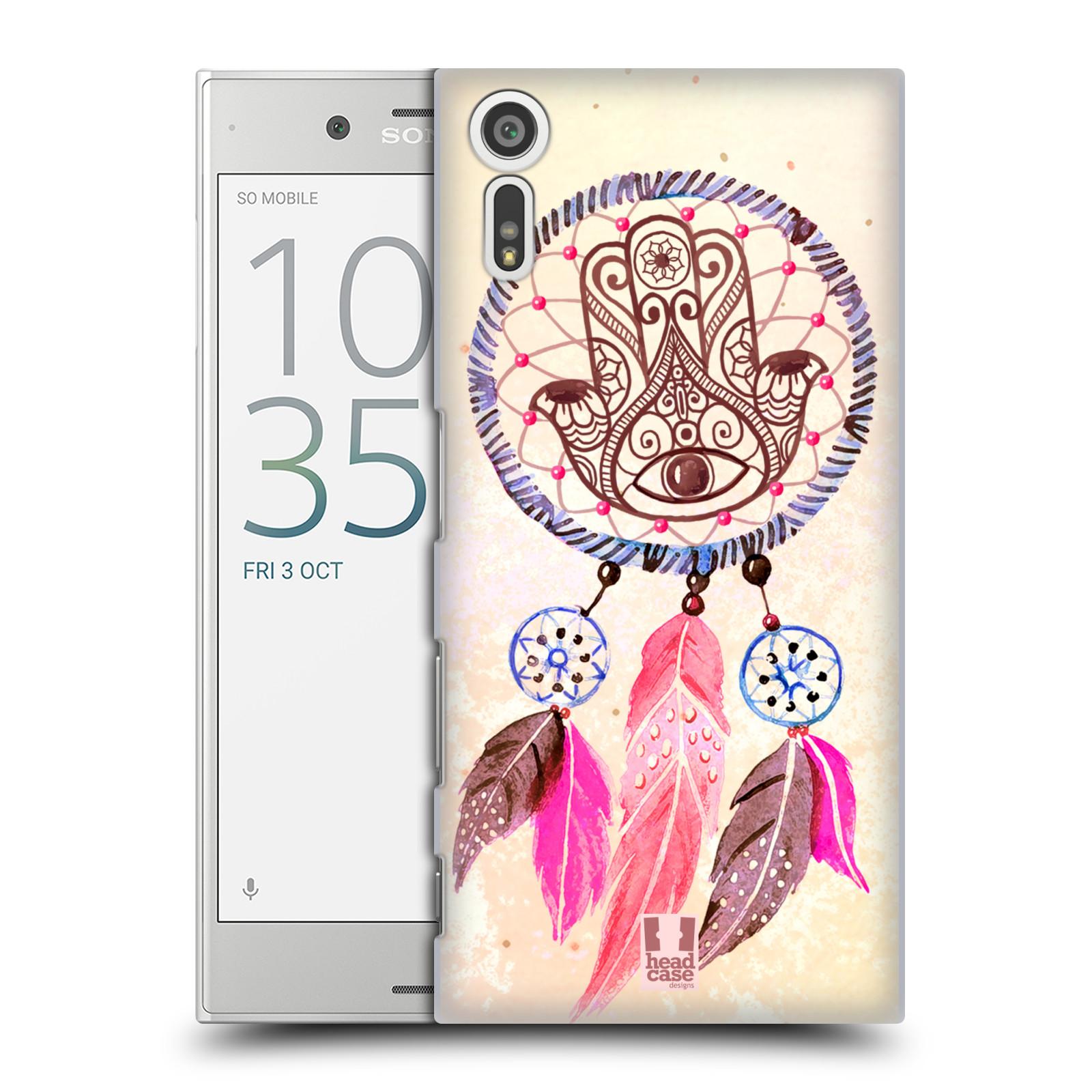 Plastové pouzdro na mobil Sony Xperia XZ - Head Case Lapač Assorted Hamsa