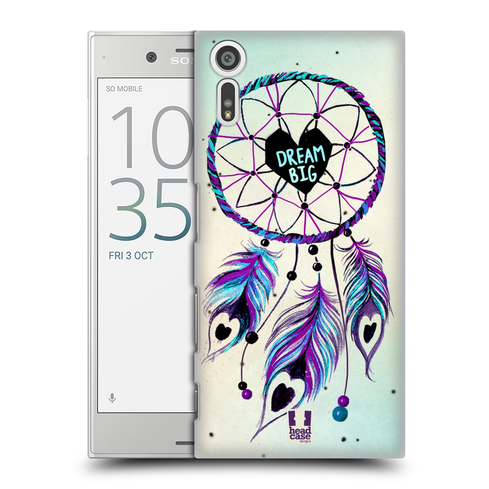 Plastové pouzdro na mobil Sony Xperia XZ - Head Case Lapač Assorted Dream Big Srdce