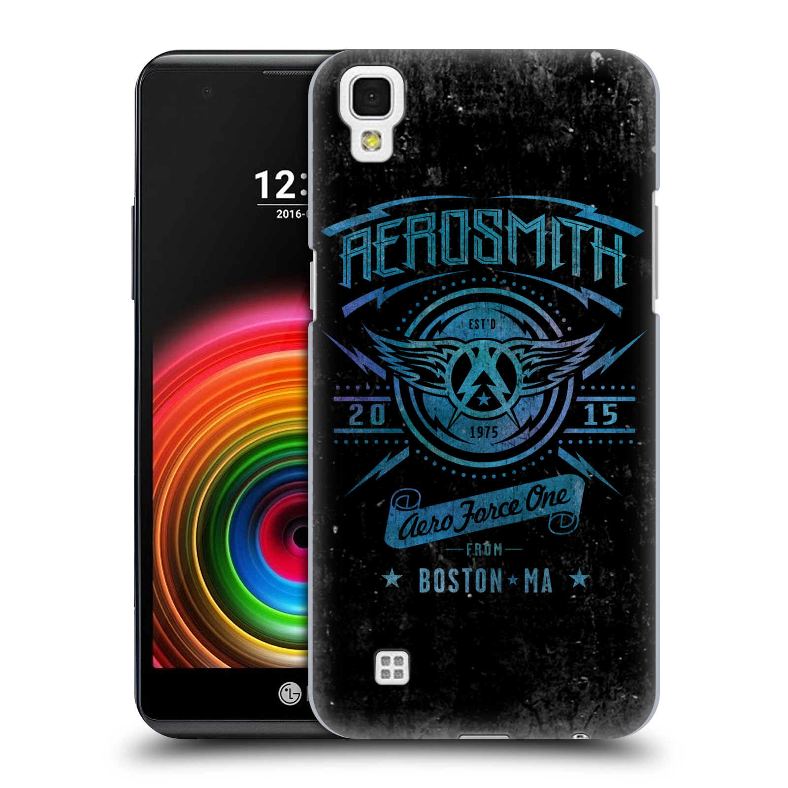 Plastové pouzdro na mobil LG X Power - Head Case - Aerosmith - Aero Force One (Plastový kryt či obal na mobilní telefon s licencovaným motivem Aerosmith pro LG X Power K220)