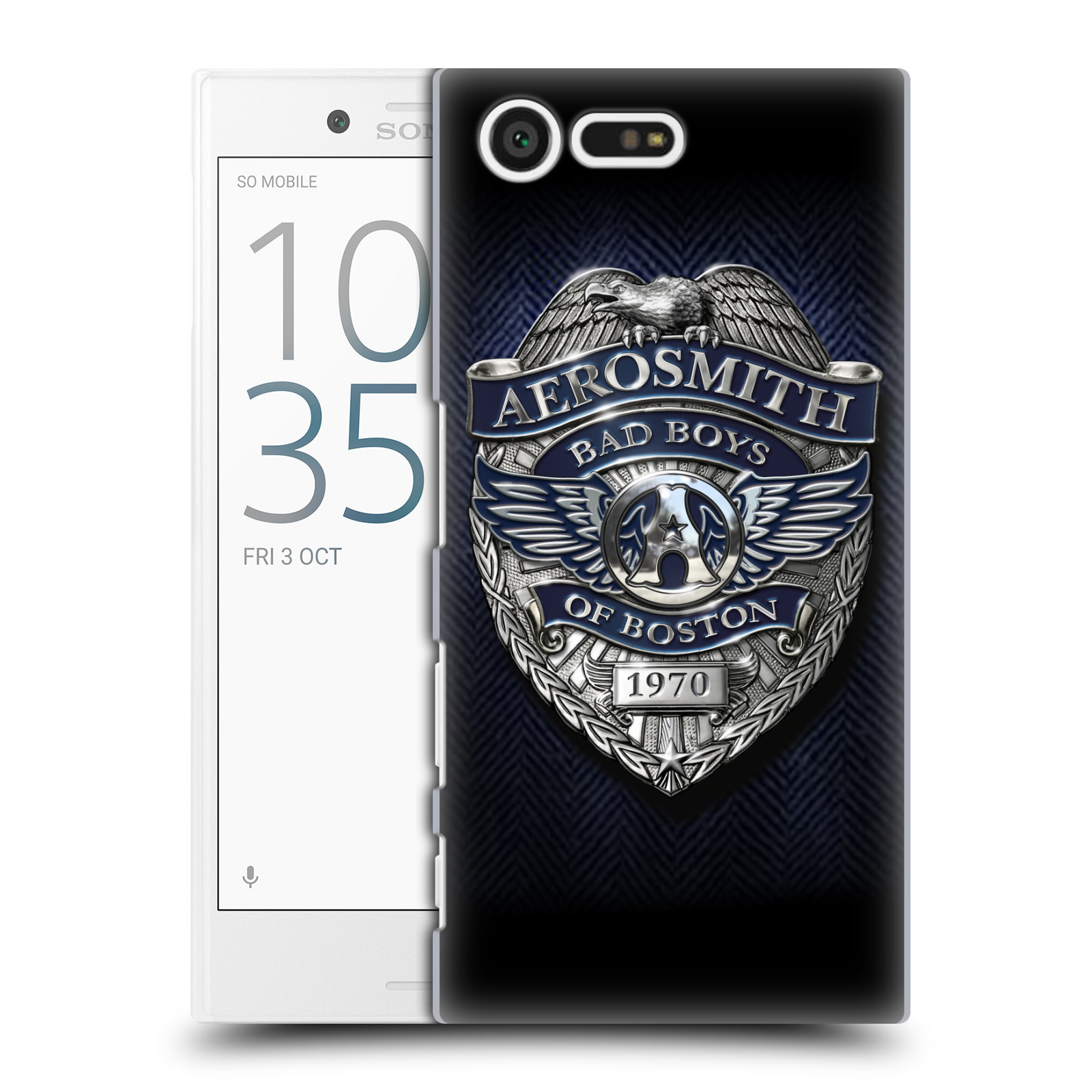 Plastové pouzdro na mobil Sony Xperia X Compact HEAD CASE - Aerosmith - Bad Boys of Boston