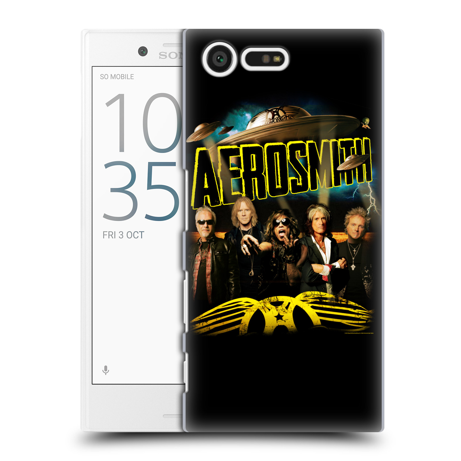 Plastové pouzdro na mobil Sony Xperia X Compact HEAD CASE - Aerosmith - Global Warming