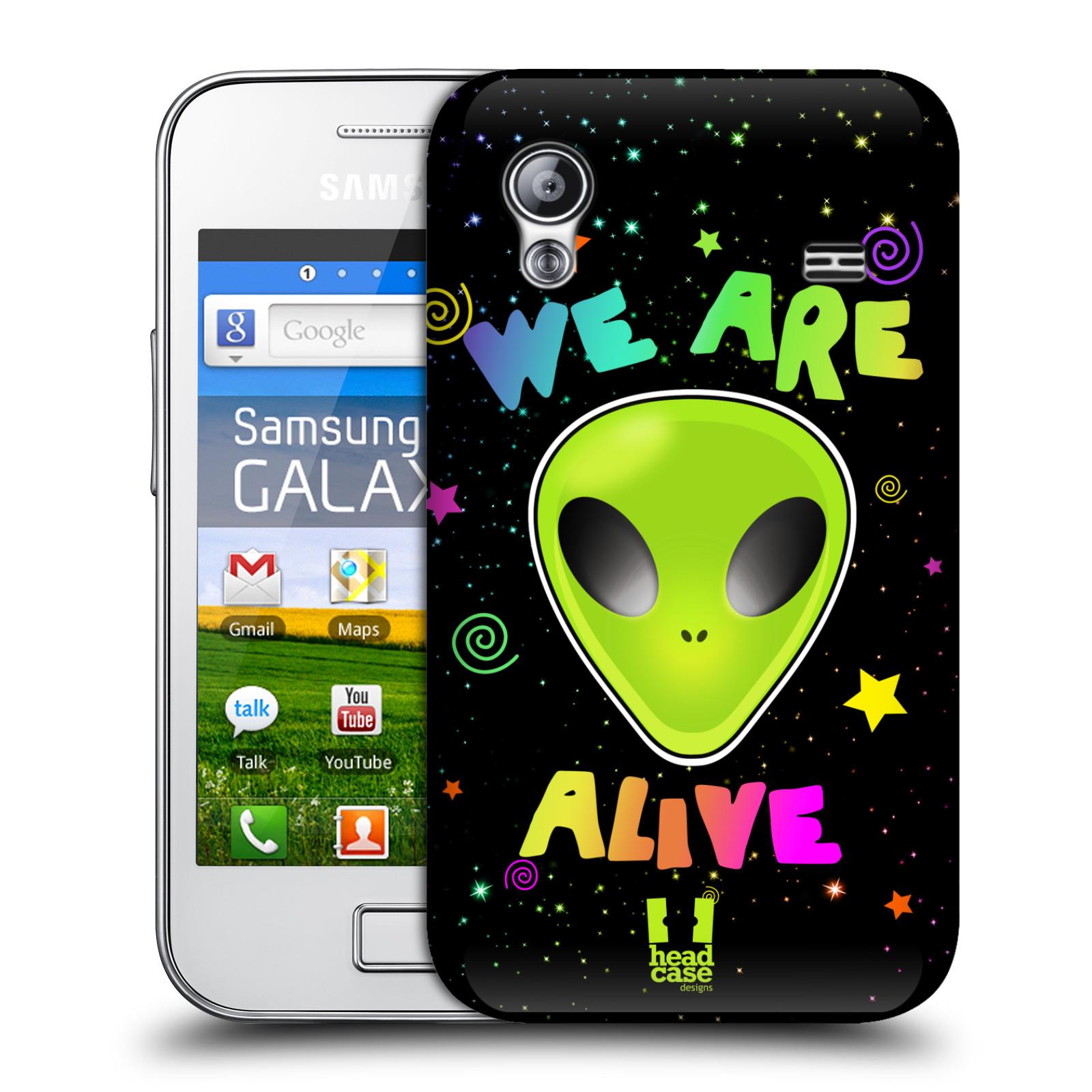 Plastové pouzdro na mobil Samsung Galaxy Ace HEAD CASE ALIENS ALIVE (Kryt či obal na mobilní telefon Samsung Galaxy Ace GT-S5830 / GT-S5830i / GT-S5839i)