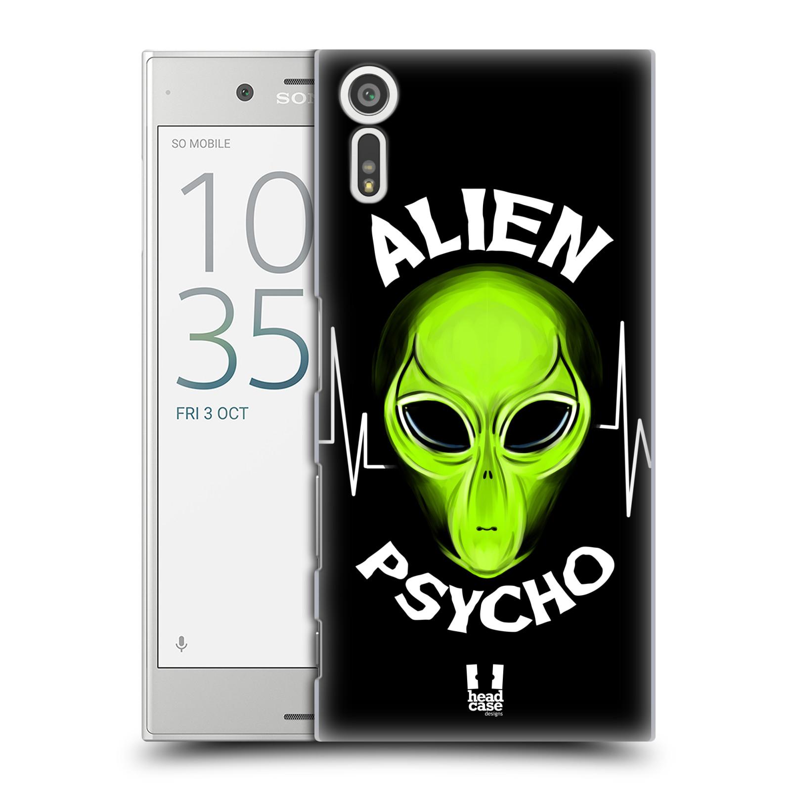 Plastové pouzdro na mobil Sony Xperia XZ - Head Case ALIENS PSYCHO