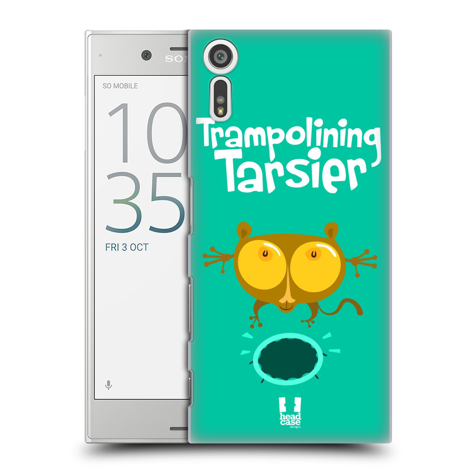 Plastové pouzdro na mobil Sony Xperia XZ - Head Case SPORTOVEC NÁRTOUN