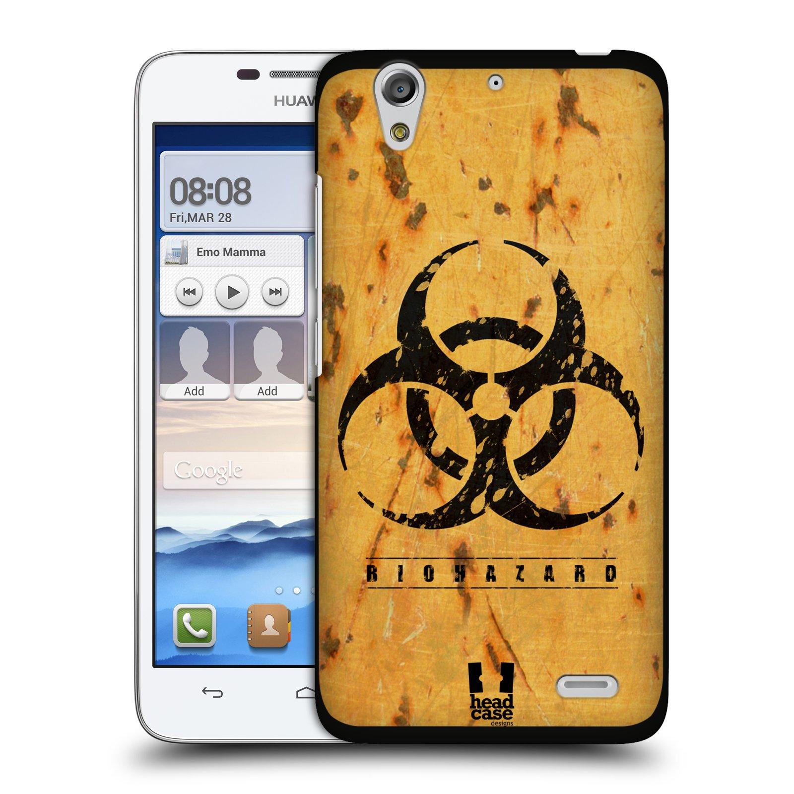 Plastové pouzdro na mobil Huawei Ascend G630 HEAD CASE BIOHAZARD REZ (Kryt či obal na mobilní telefon Huawei Ascend G630)