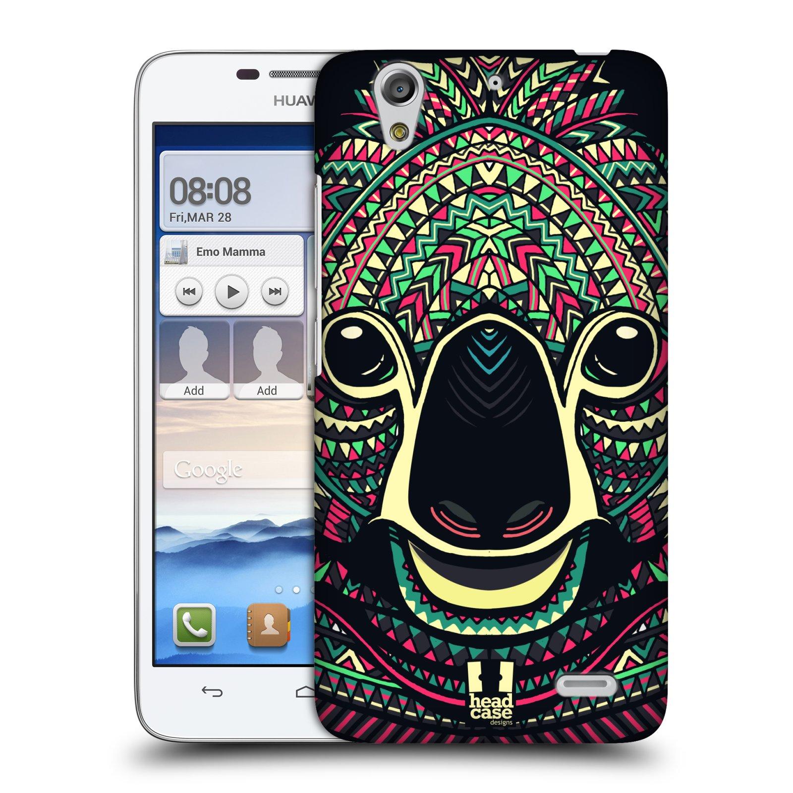 Plastové pouzdro na mobil Huawei Ascend G630 HEAD CASE AZTEC KOALA (Kryt či obal na mobilní telefon Huawei Ascend G630)