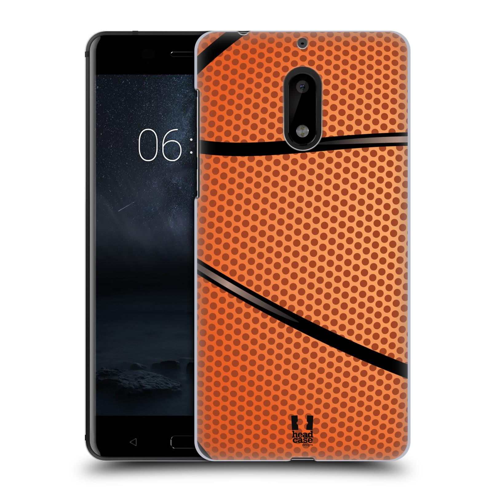 Plastové pouzdro na mobil Nokia 6 - Head Case BASKEŤÁK (Plastový kryt či obal na mobilní telefon Nokia 6 (Dual SIM))