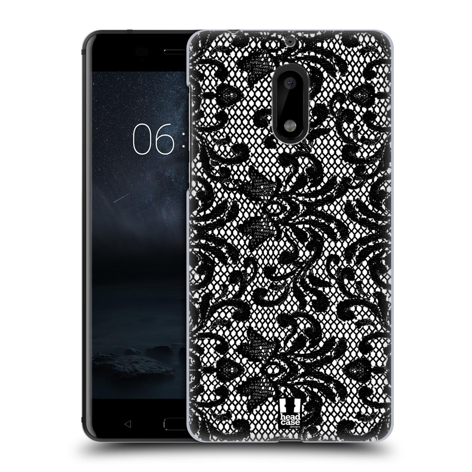Plastové pouzdro na mobil Nokia 6 - Head Case KRAJKA (Plastový kryt či obal na mobilní telefon Nokia 6 (Dual SIM))