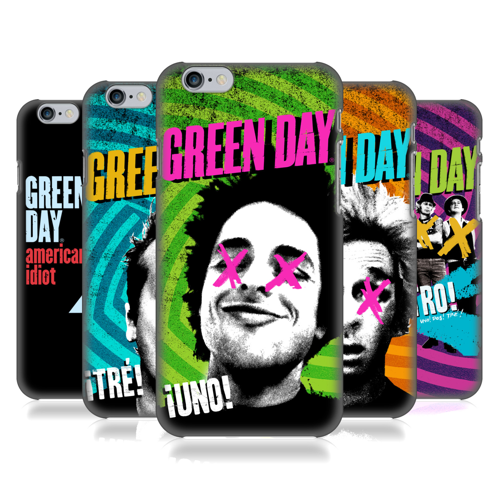 Green Day Phone and Tablet cases