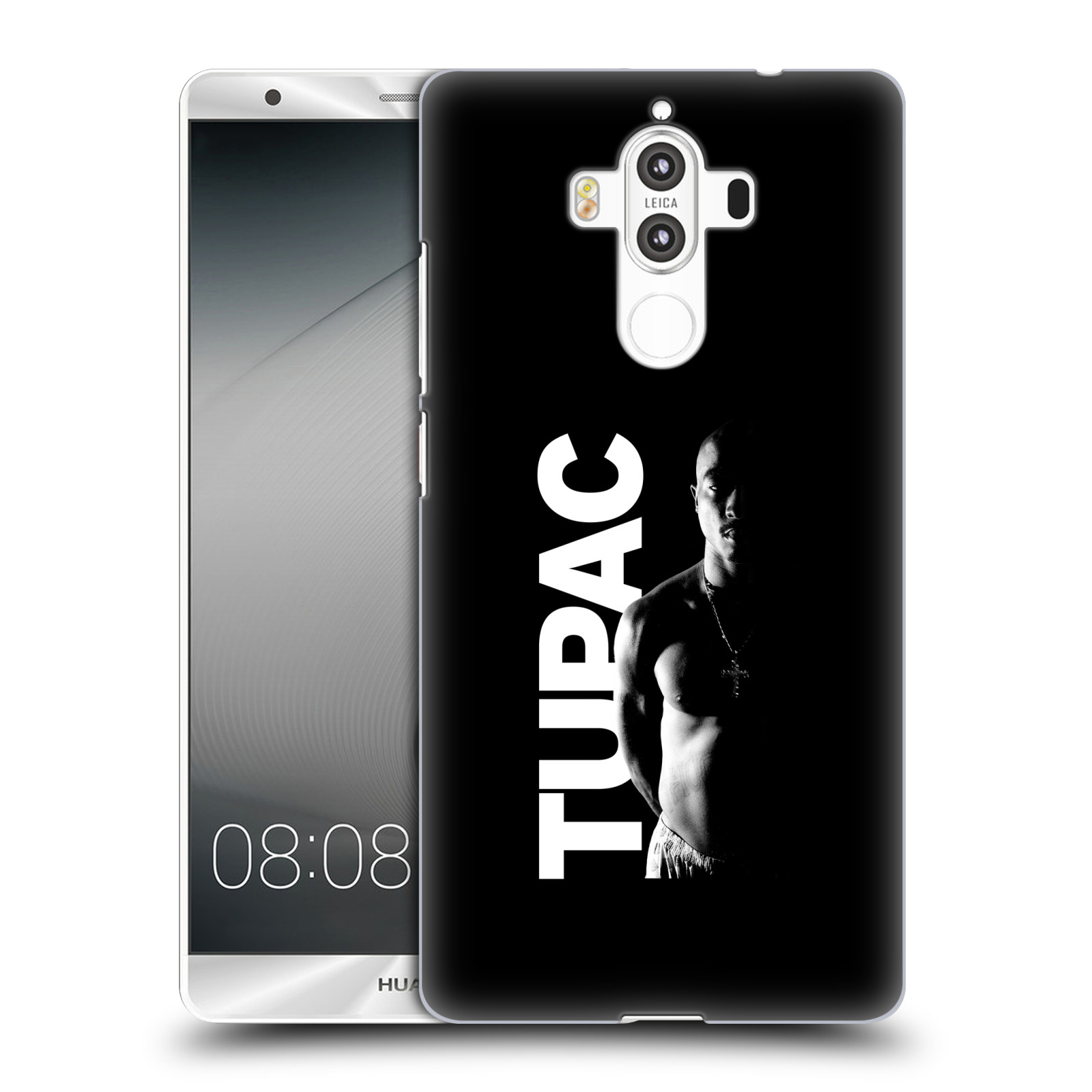 Plastové pouzdro na mobil Huawei Mate 9 - Head Case TUPAC - Black and White (Plastový kryt či obal na mobilní telefon s oficiálním motivem rappera Tupaca Amaru Shakura pro Huawei Mate 9 (Dual SIM))