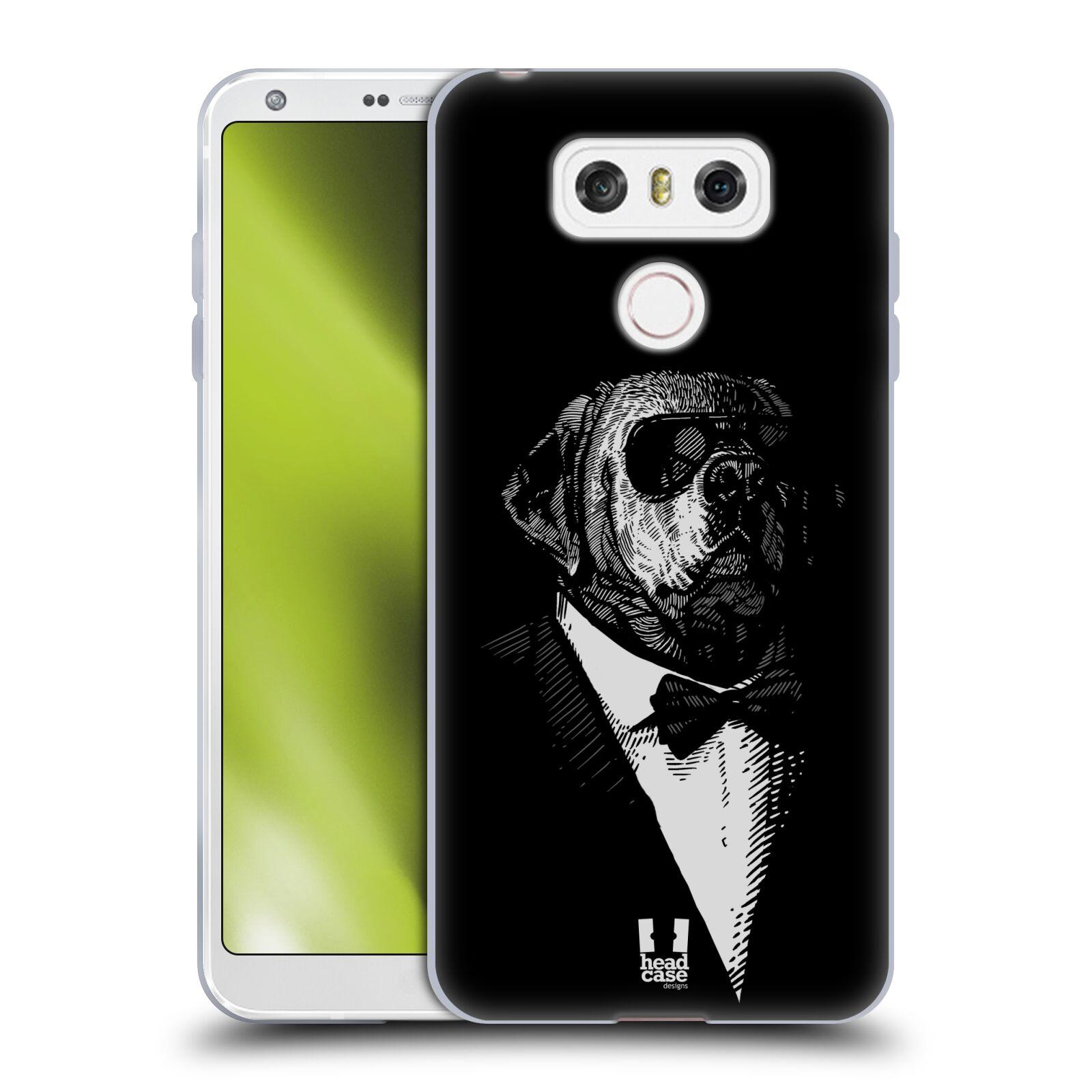 Silikonové pouzdro na mobil LG G6 - Head Case PSISKO V KVÁDRU (Silikonový kryt či obal na mobilní telefon LG G6 H870 / LG G6 Dual SIM H870DS)