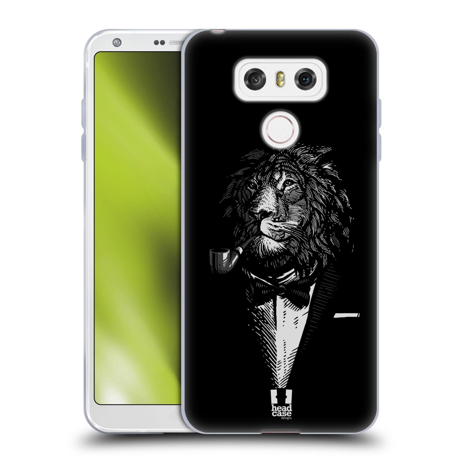 Silikonové pouzdro na mobil LG G6 - Head Case LEV V KVÁDRU (Silikonový kryt či obal na mobilní telefon LG G6 H870 / LG G6 Dual SIM H870DS)