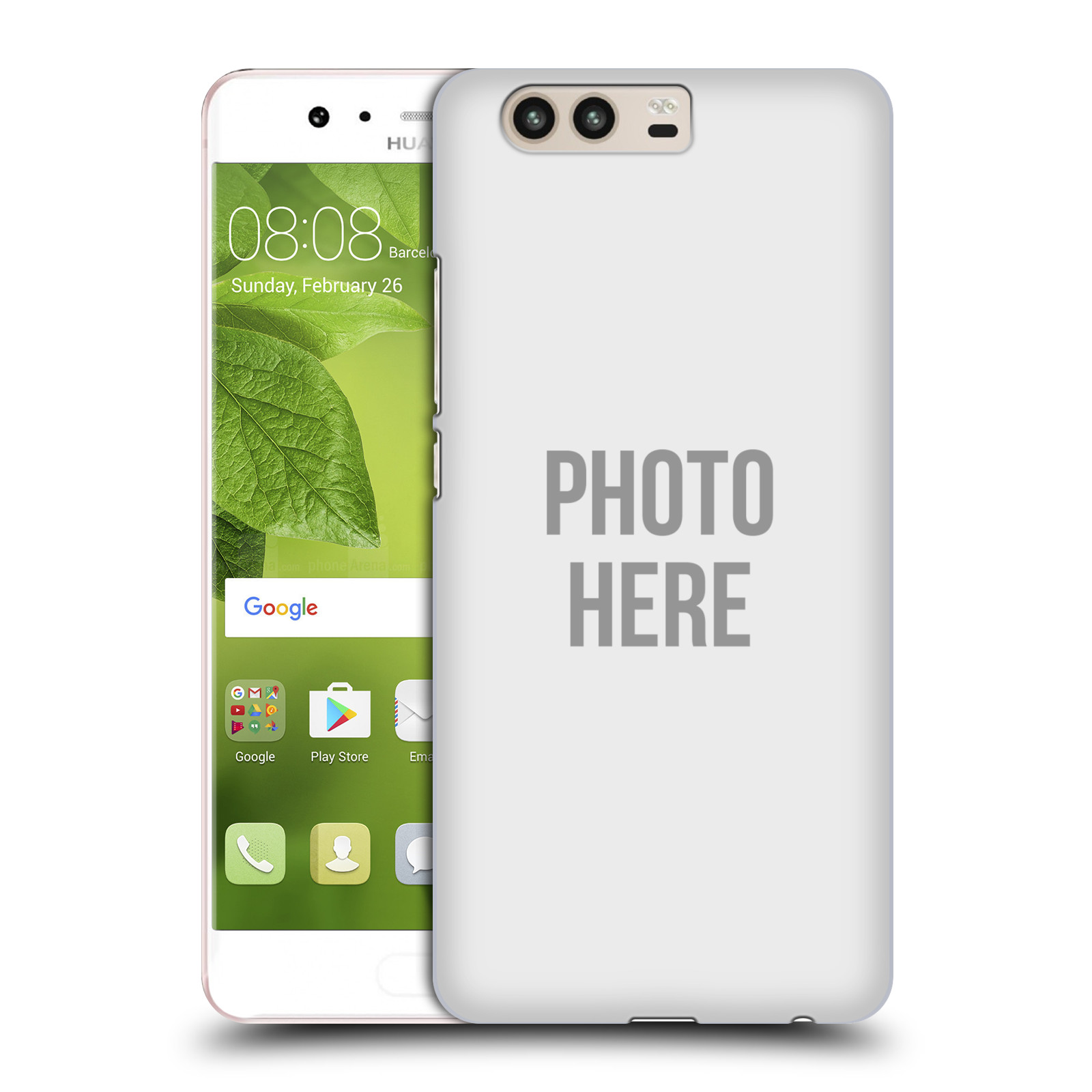 Plastové pouzdro na mobil Huawei P10 - Head Case s vlastním motivem (Plastový kryt či obal s vlastní fotografií na mobilní telefon Huawei P10 (Dual SIM))