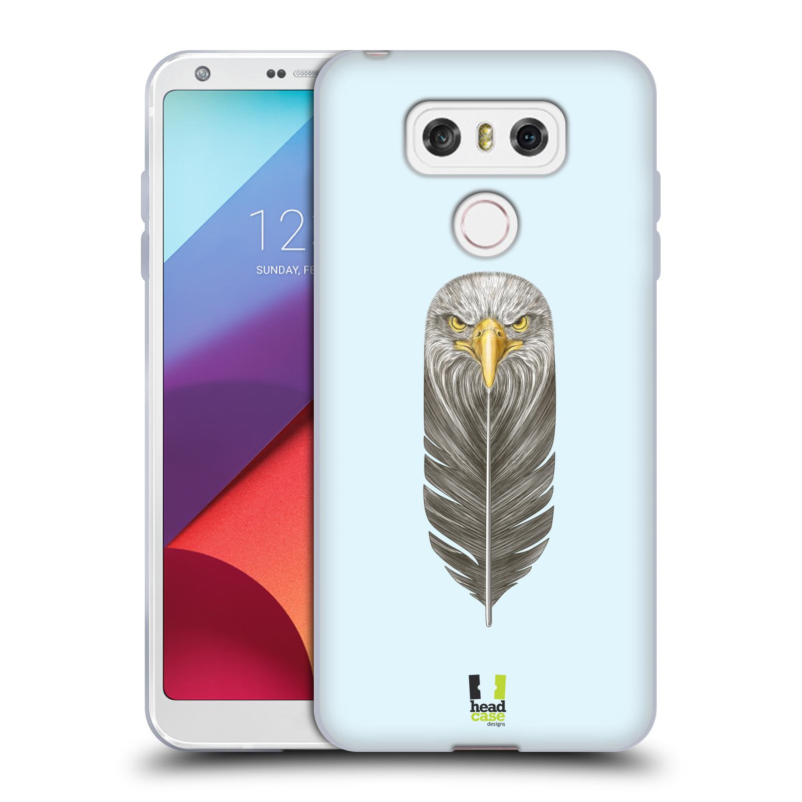 Silikonové pouzdro na mobil LG G6 - Head Case PÍRKO OREL (Silikonový kryt či obal na mobilní telefon LG G6 H870 / LG G6 Dual SIM H870DS)