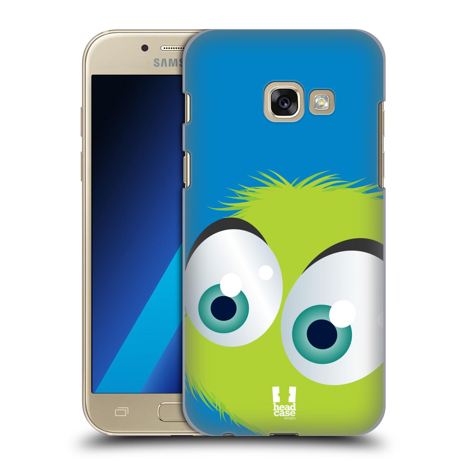 Plastové pouzdro na mobil Samsung Galaxy A3 (2017) HEAD CASE FUZÍK ZELENÝ (Plastový kryt či obal na mobilní telefon Samsung Galaxy A3 2017 SM-A320)
