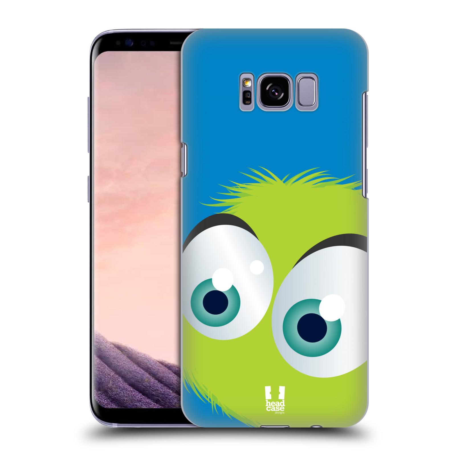 Plastové pouzdro na mobil Samsung Galaxy S8+ (Plus) Head Case FUZÍK ZELENÝ (Plastový kryt či obal na mobilní telefon Samsung Galaxy S8+ (Plus) SM-G9550)