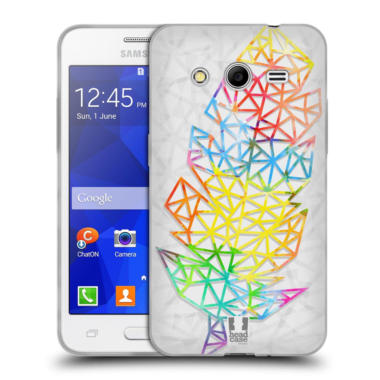 Silikonové pouzdro na mobil Samsung Galaxy Core 2 HEAD CASE PÍRKA SINGLE (Silikonový kryt či obal na mobilní telefon Samsung Galaxy Core 2 SM-G355)
