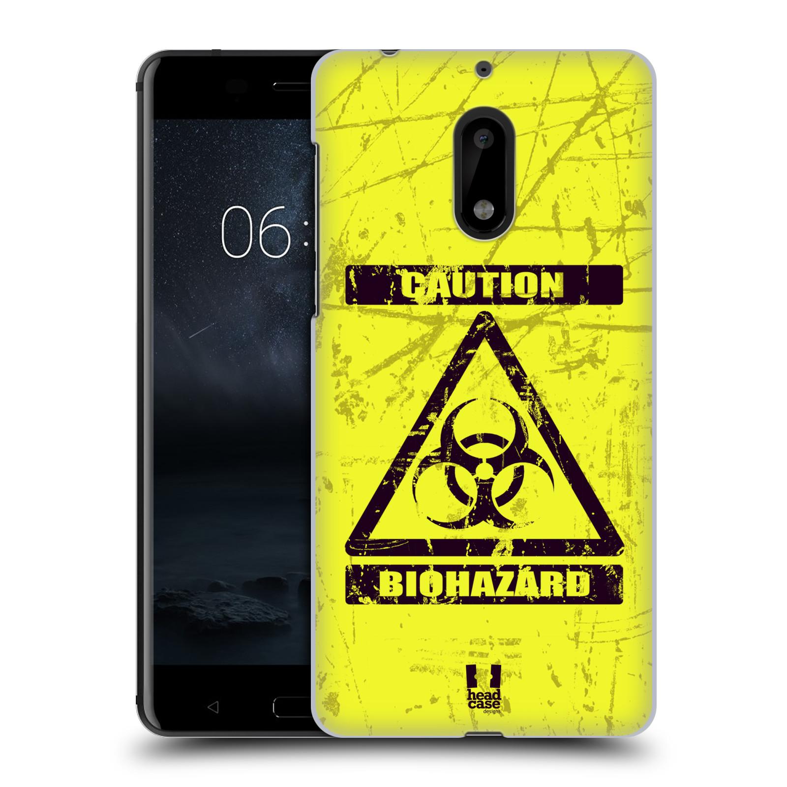 Plastové pouzdro na mobil Nokia 6 - Head Case BIOHAZARD (Plastový kryt či obal na mobilní telefon Nokia 6 (Dual SIM))