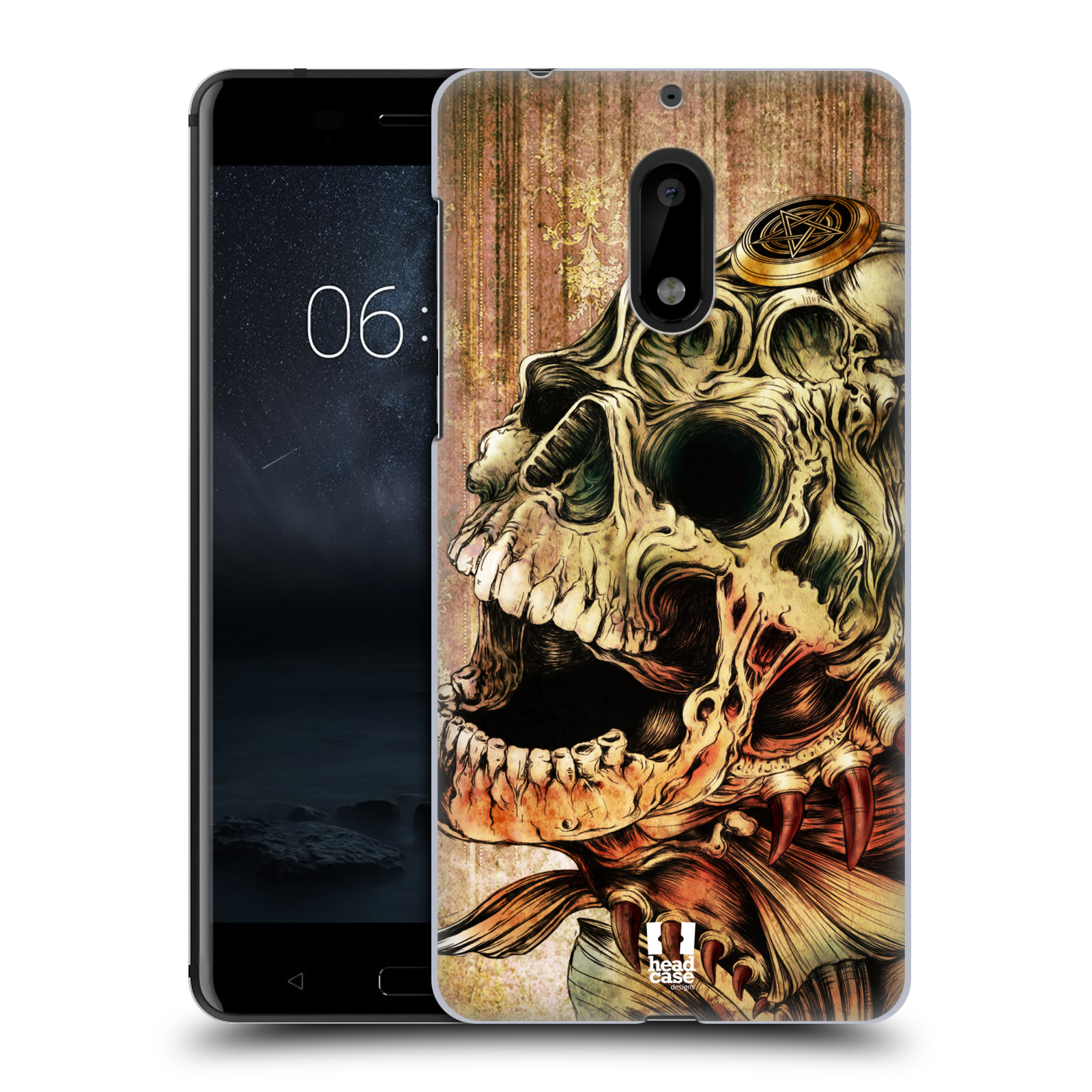 Plastové pouzdro na mobil Nokia 6 - Head Case PIRANHA (Plastový kryt či obal na mobilní telefon Nokia 6 (Dual SIM))