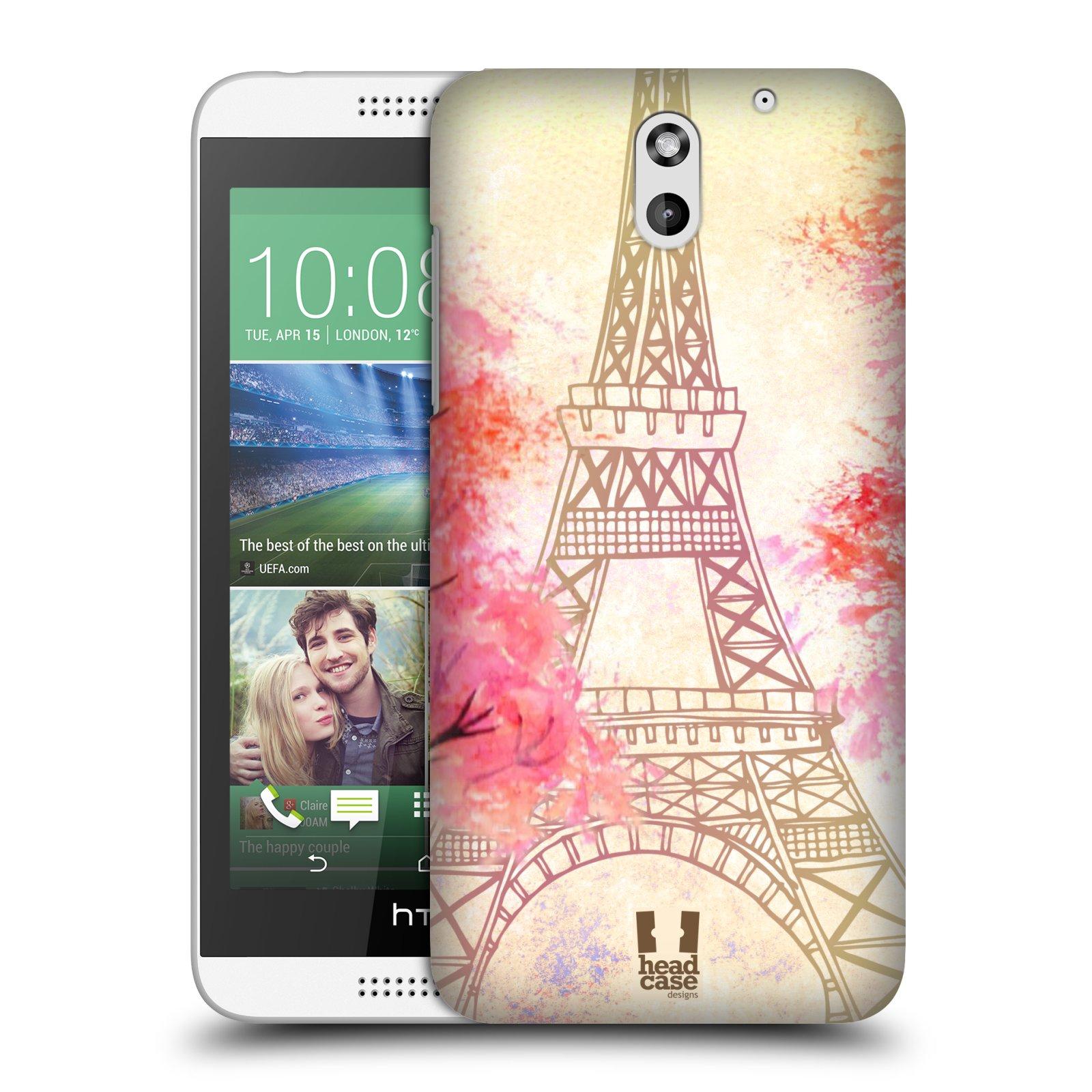 Plastové pouzdro na mobil HTC Desire 610 HEAD CASE PAŘÍŽ TREES (Kryt či obal na mobilní telefon HTC Desire 610)