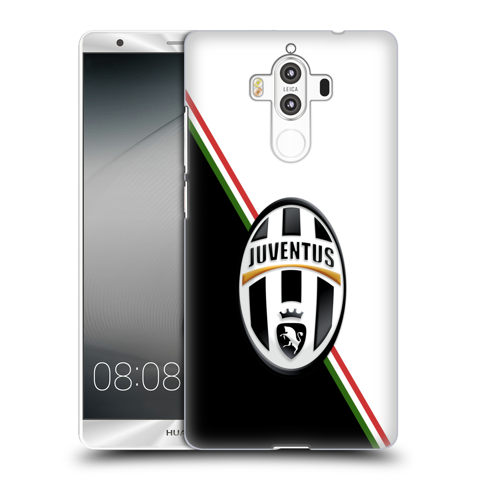 Plastové pouzdro na mobil Huawei Mate 9 - Head Case Juventus FC - Black and White (Plastový kryt či obal na mobilní telefon Juventus FC Official pro Huawei Mate 9 (Dual SIM))