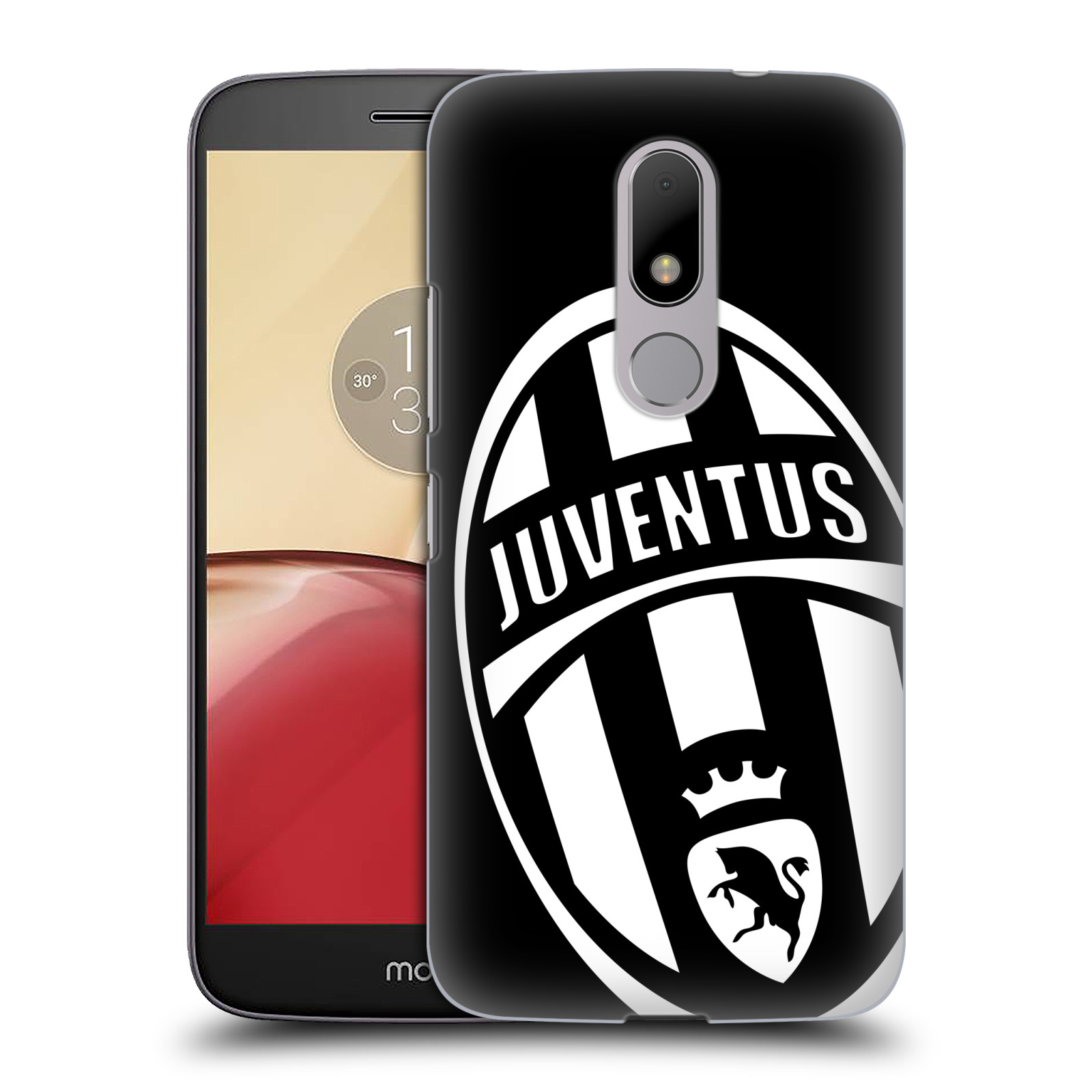 Plastové pouzdro na mobil Lenovo Moto M HEAD CASE Juventus FC - Velké Logo (Plastový kryt či obal na mobilní telefon Juventus FC Official pro Lenovo (Motorola) Moto M / Moto M Dual SIM)