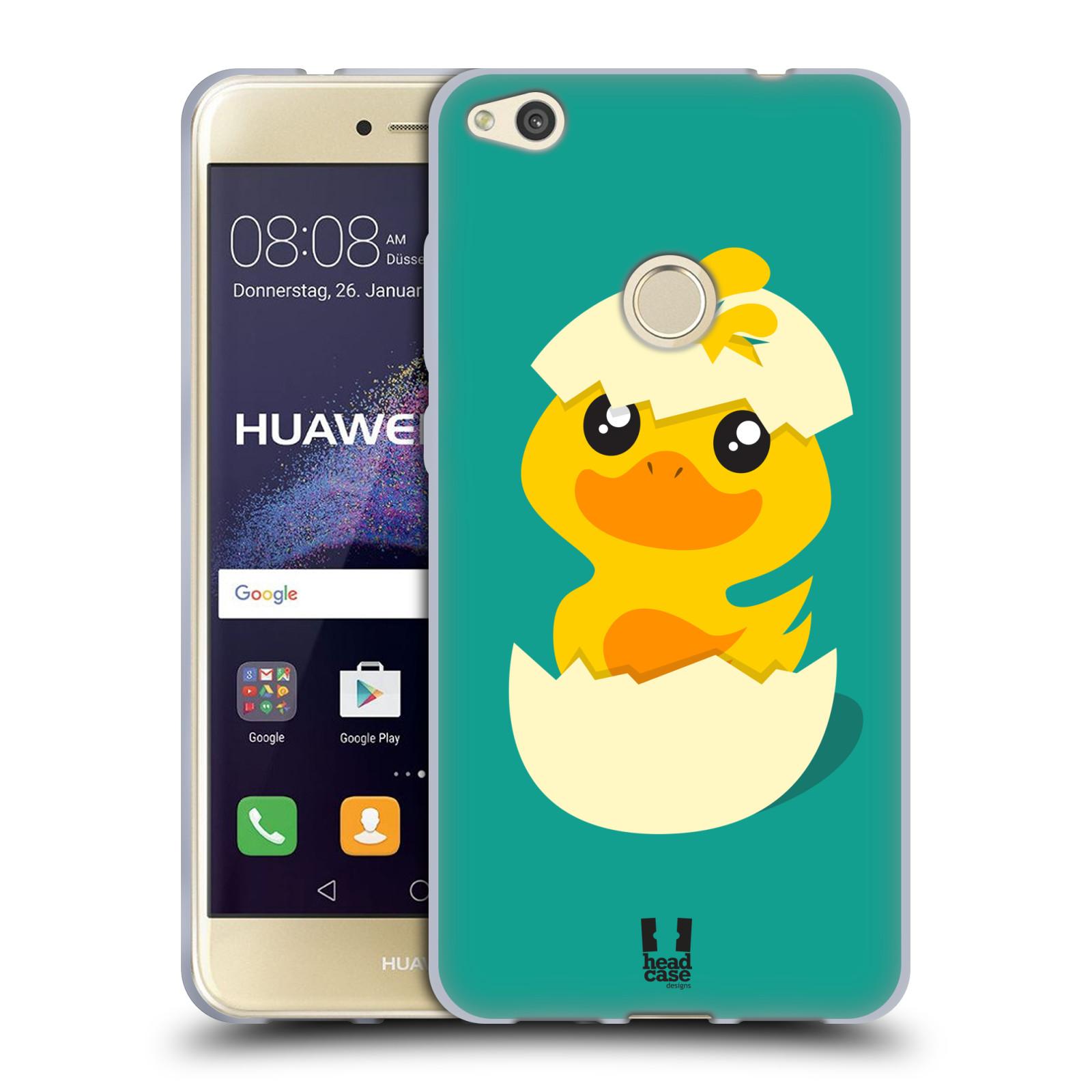 Silikonové pouzdro na mobil Huawei P9 Lite (2017) HEAD CASE KACHNIČKA Z VAJÍČKA (Silikonový kryt či obal na mobilní telefon Huawei P9 Lite 2017)