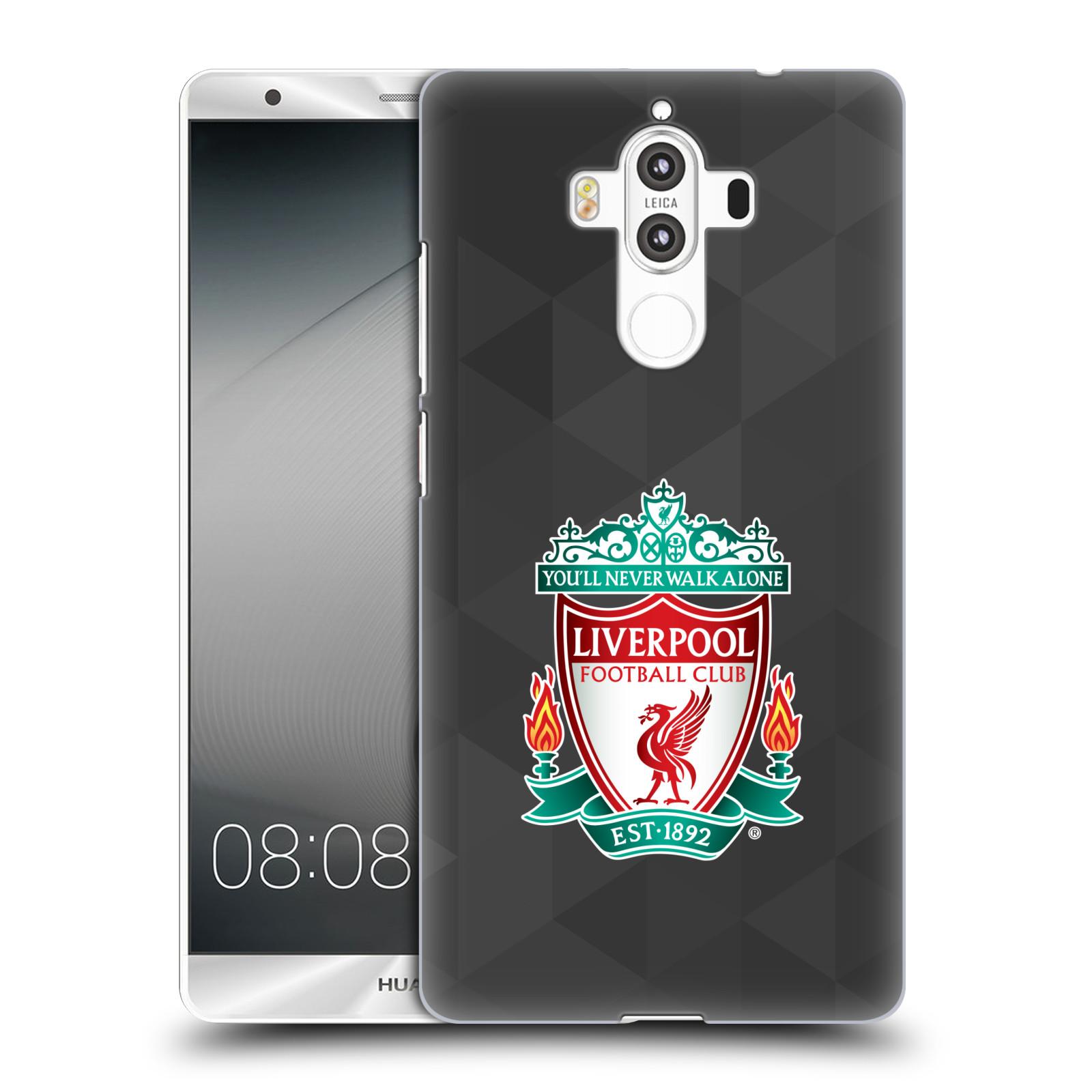 Plastové pouzdro na mobil Huawei Mate 9 - Head Case ZNAK LIVERPOOL FC OFFICIAL GEOMETRIC BLACK (Plastový kryt či obal na mobilní telefon Liverpool FC Official pro Huawei Mate 9 (Dual SIM))