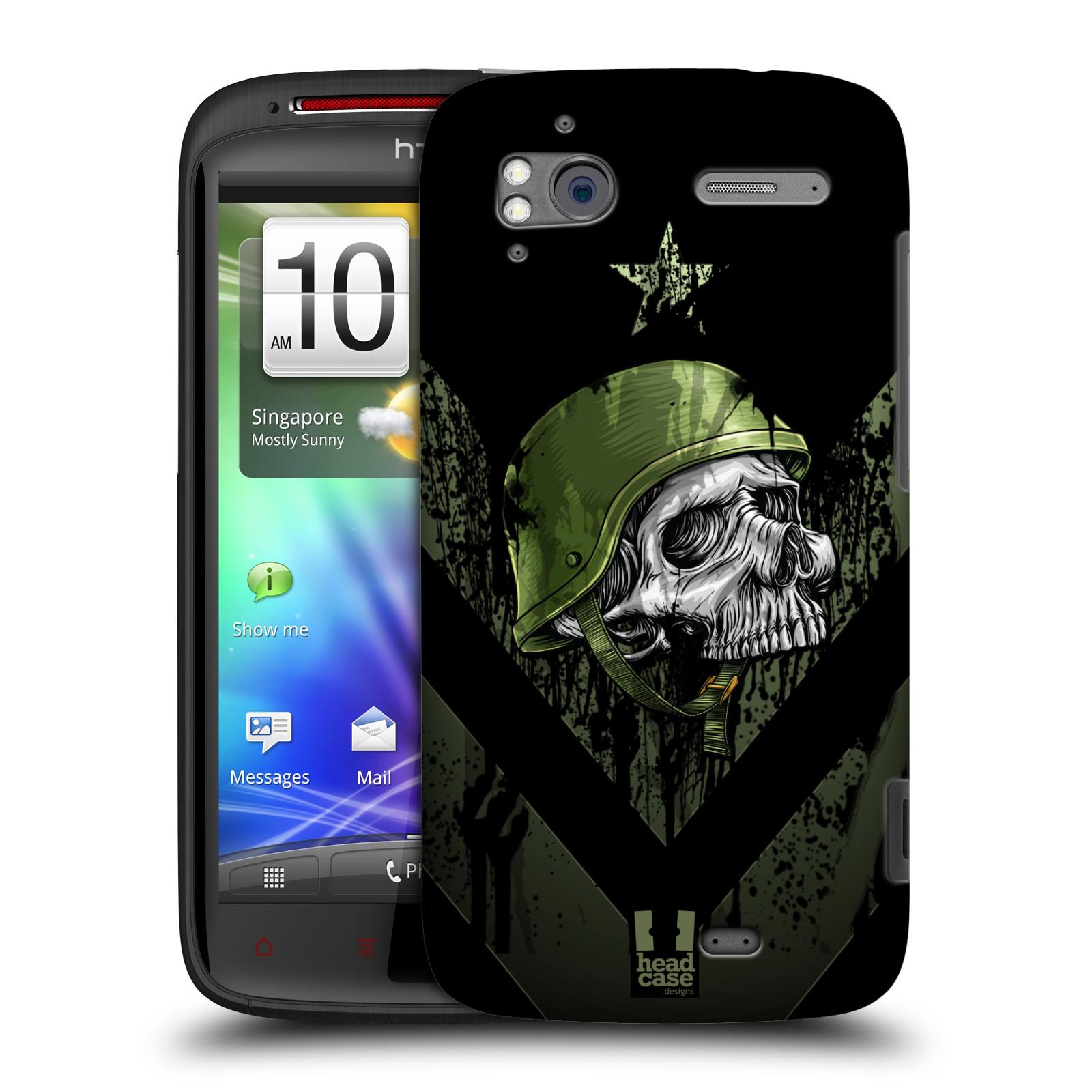 Plastové pouzdro na mobil HTC Sensation XE HEAD CASE LEBKA ONE MAN (Kryt či obal na mobilní telefon HTC Sensation XE)