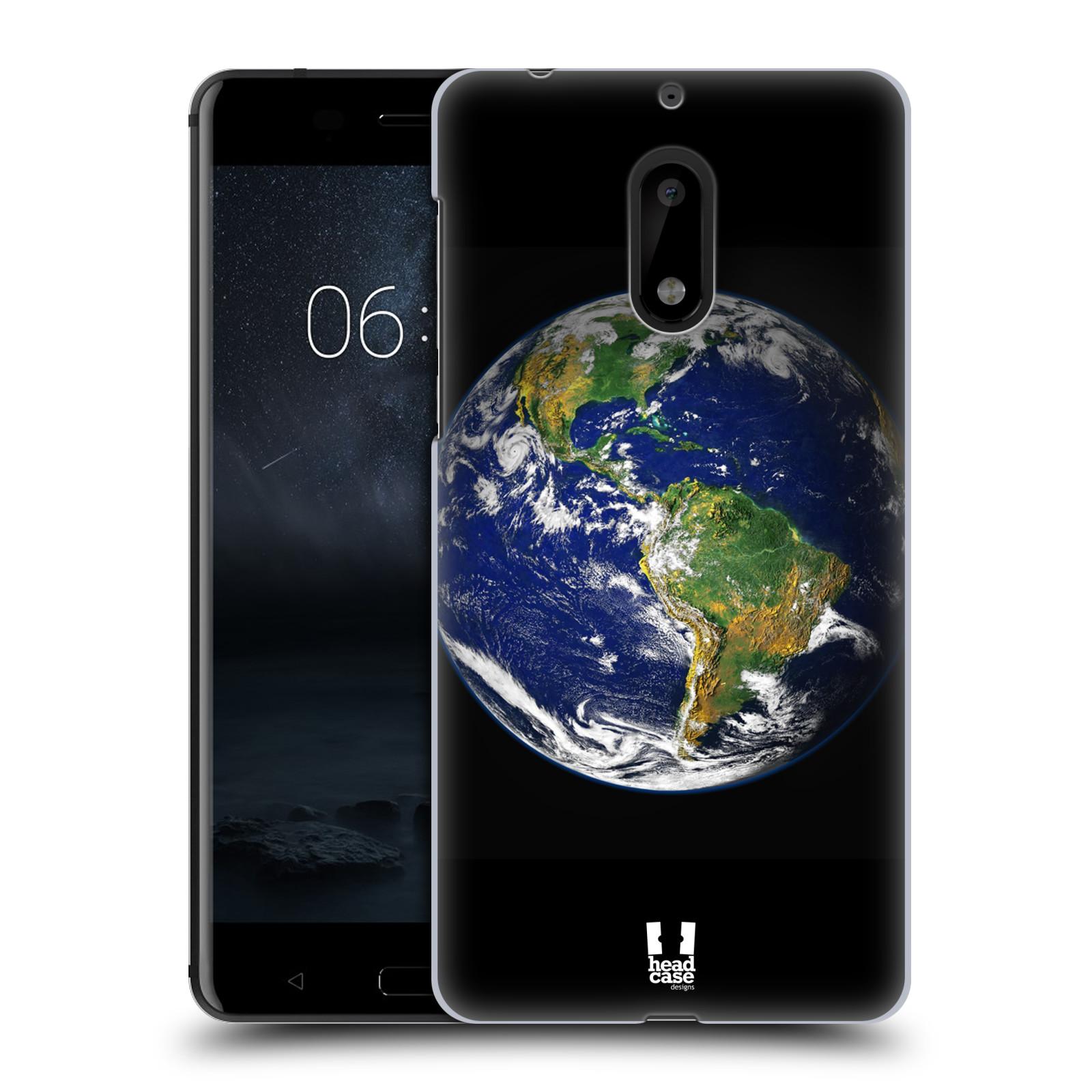 Plastové pouzdro na mobil Nokia 6 - Head Case ZEMĚ (Plastový kryt či obal na mobilní telefon Nokia 6 (Dual SIM))