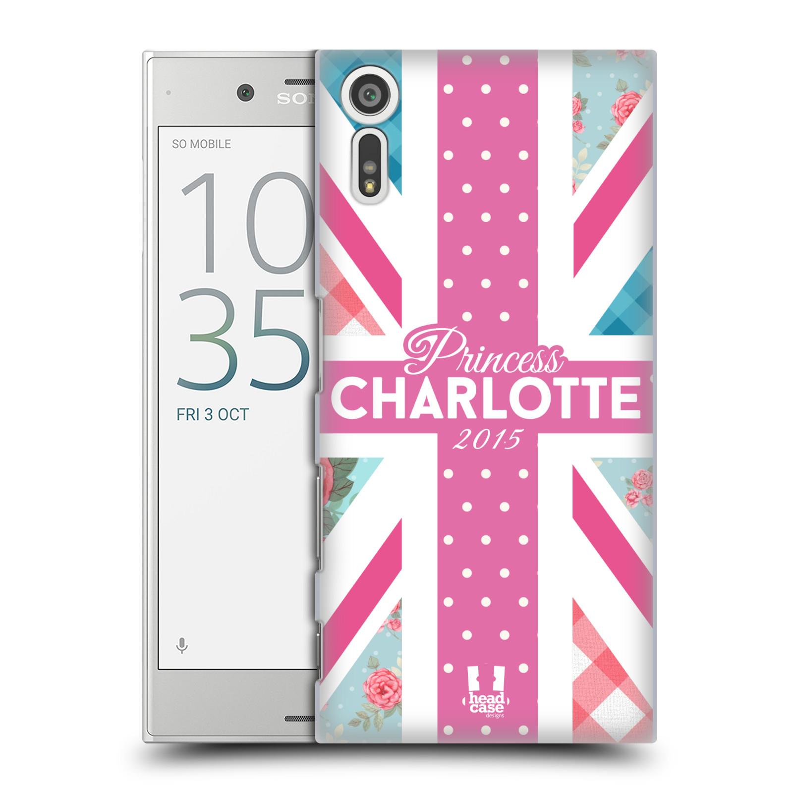 Plastové pouzdro na mobil Sony Xperia XZ - Head Case PRINCEZNIČKA CHARLOTTE (Plastový kryt či obal na mobilní telefon Sony Xperia XZ F8331 / Sony Xperia XZ Dual F8332)