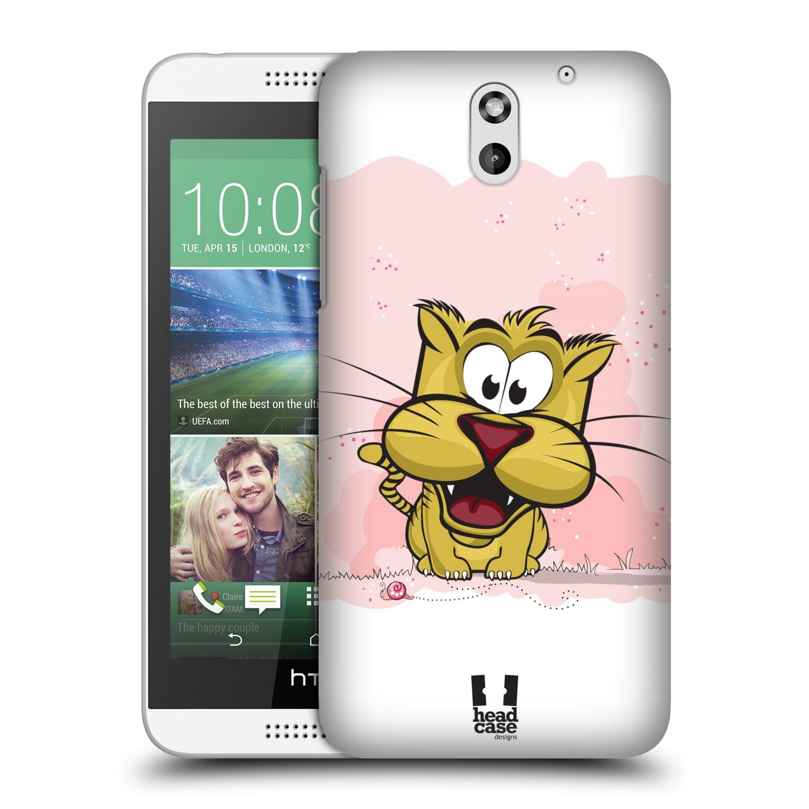 Plastové pouzdro na mobil HTC Desire 610 HEAD CASE CELÝ TYGŘÍK (Kryt či obal na mobilní telefon HTC Desire 610)