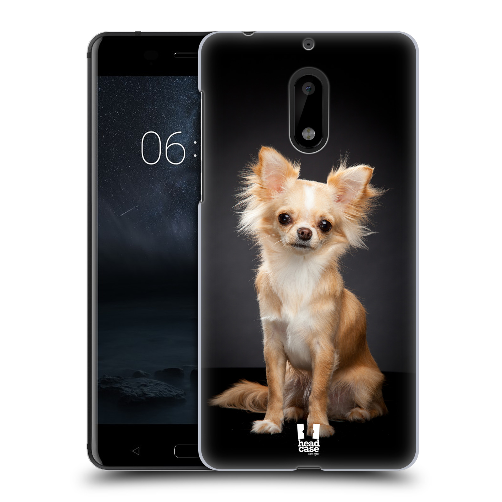 Plastové pouzdro na mobil Nokia 6 - Head Case ČIVAVA (Plastový kryt či obal na mobilní telefon Nokia 6 (Dual SIM))