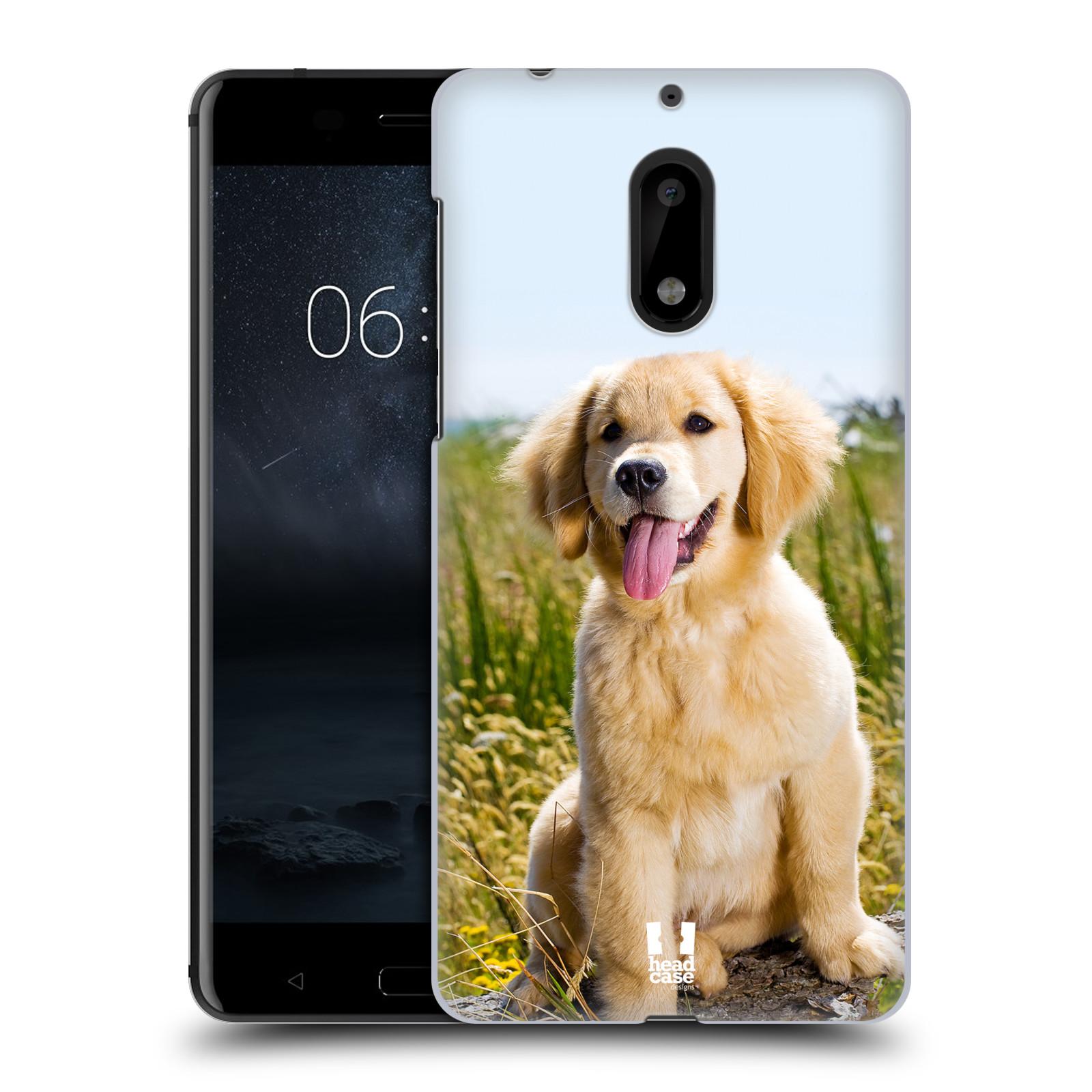 Plastové pouzdro na mobil Nokia 6 - Head Case RETRÍVR (Plastový kryt či obal na mobilní telefon Nokia 6 (Dual SIM))