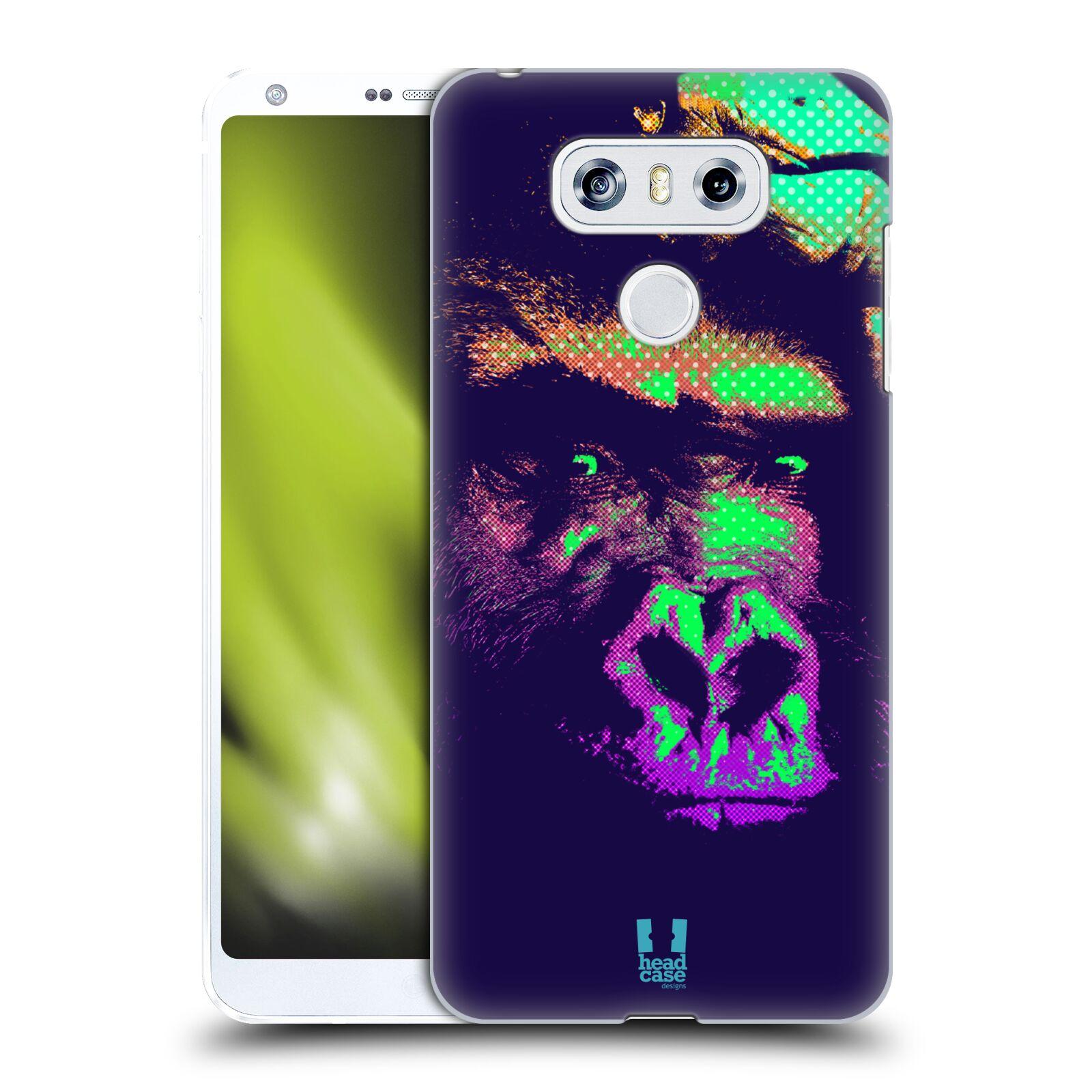 Plastové pouzdro na mobil LG G6 - Head Case POP PRINT GORILA (Plastový kryt či obal na mobilní telefon LG G6 H870 / LG G6 Dual SIM H870DS)