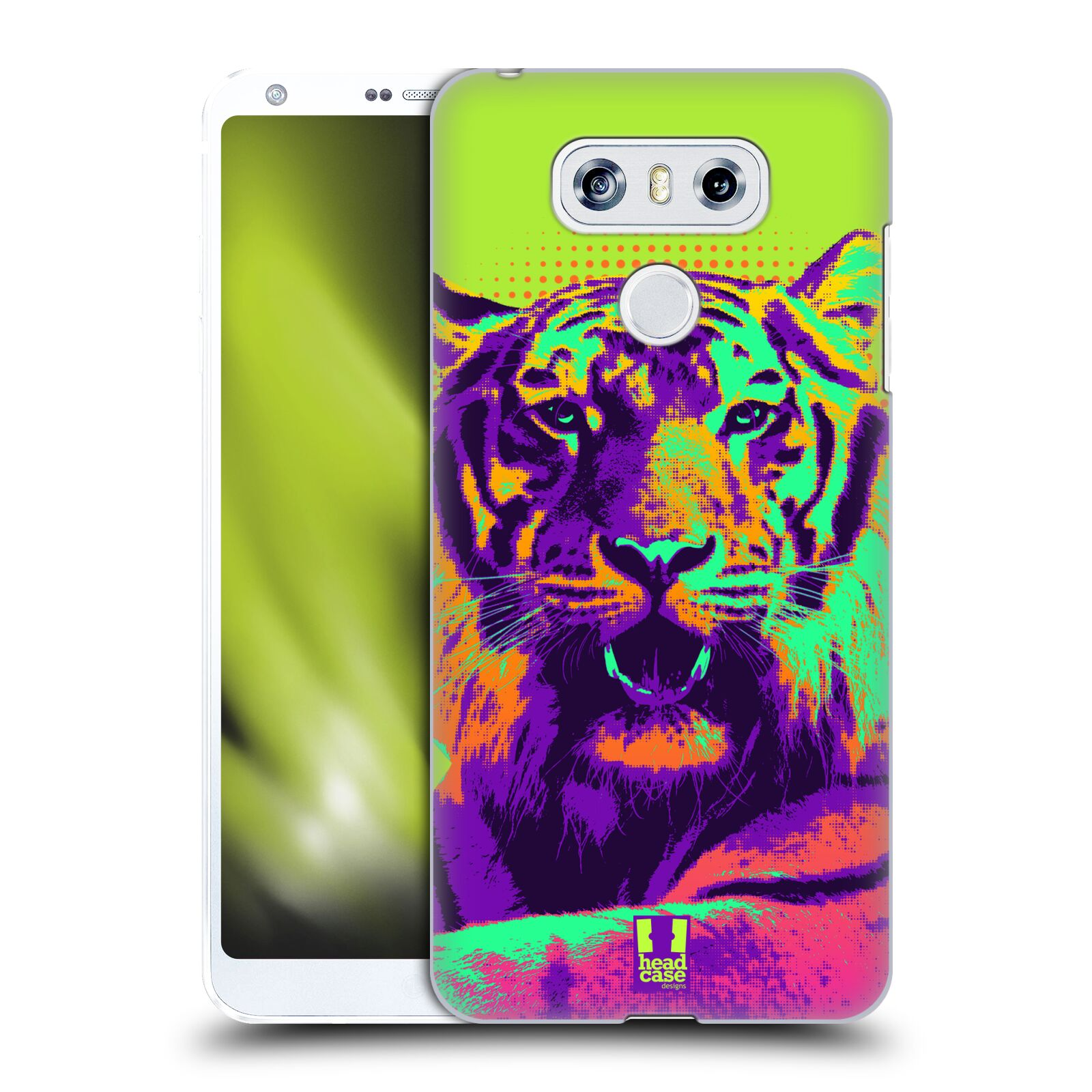 Plastové pouzdro na mobil LG G6 - Head Case POP PRINT TYGR (Plastový kryt či obal na mobilní telefon LG G6 H870 / LG G6 Dual SIM H870DS)