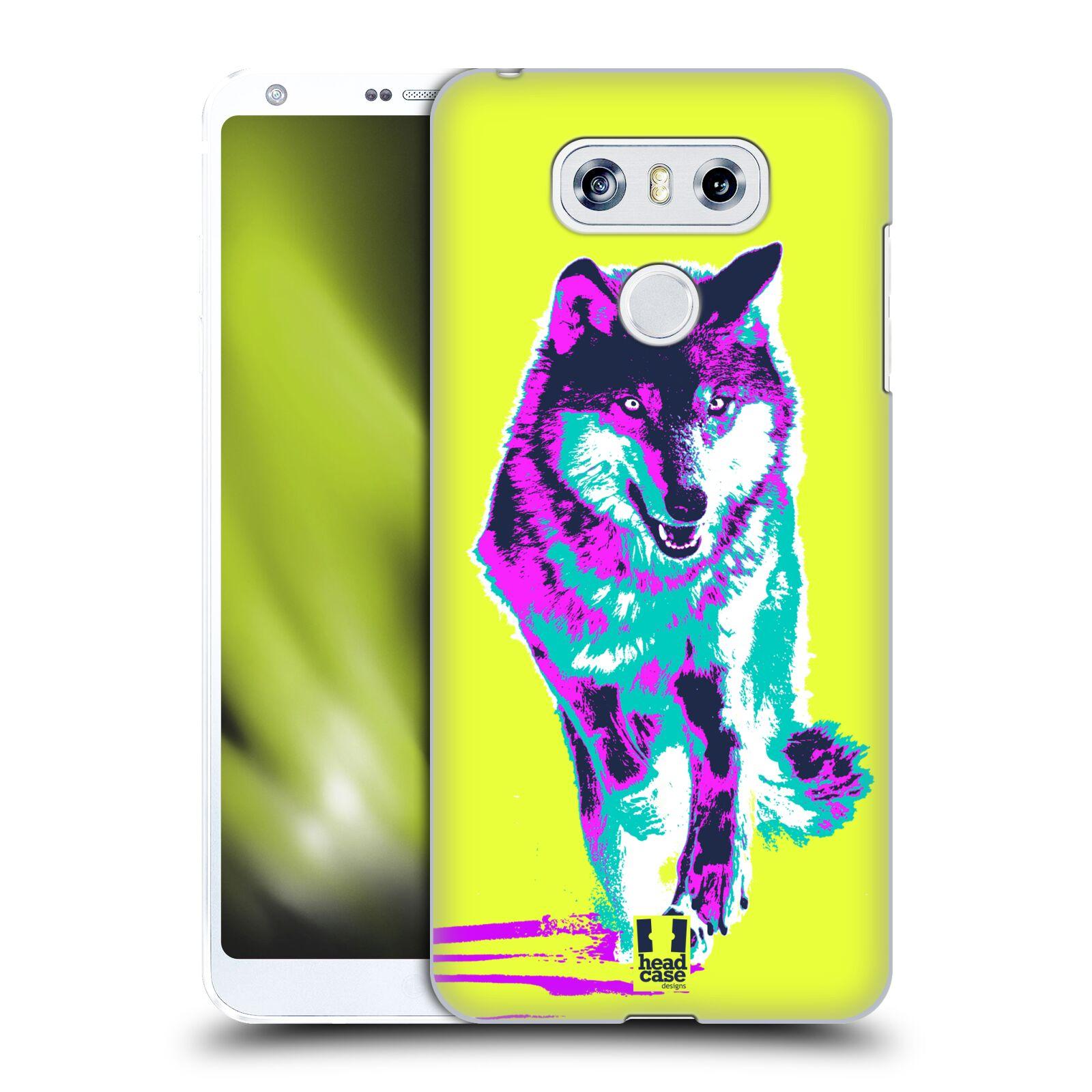 Plastové pouzdro na mobil LG G6 - Head Case POP PRINT VLK (Plastový kryt či obal na mobilní telefon LG G6 H870 / LG G6 Dual SIM H870DS)
