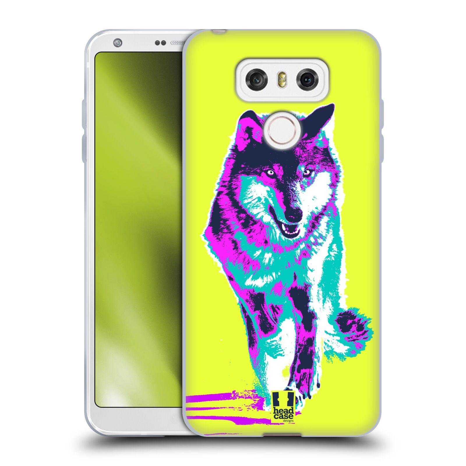 Silikonové pouzdro na mobil LG G6 - Head Case POP PRINT VLK (Silikonový kryt či obal na mobilní telefon LG G6 H870 / LG G6 Dual SIM H870DS)