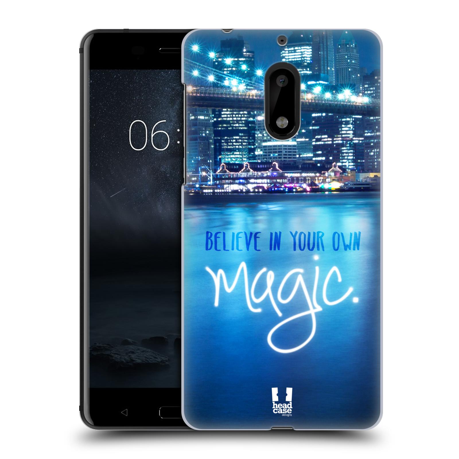 Plastové pouzdro na mobil Nokia 6 - Head Case MAGICAL (Plastový kryt či obal na mobilní telefon Nokia 6 (Dual SIM))