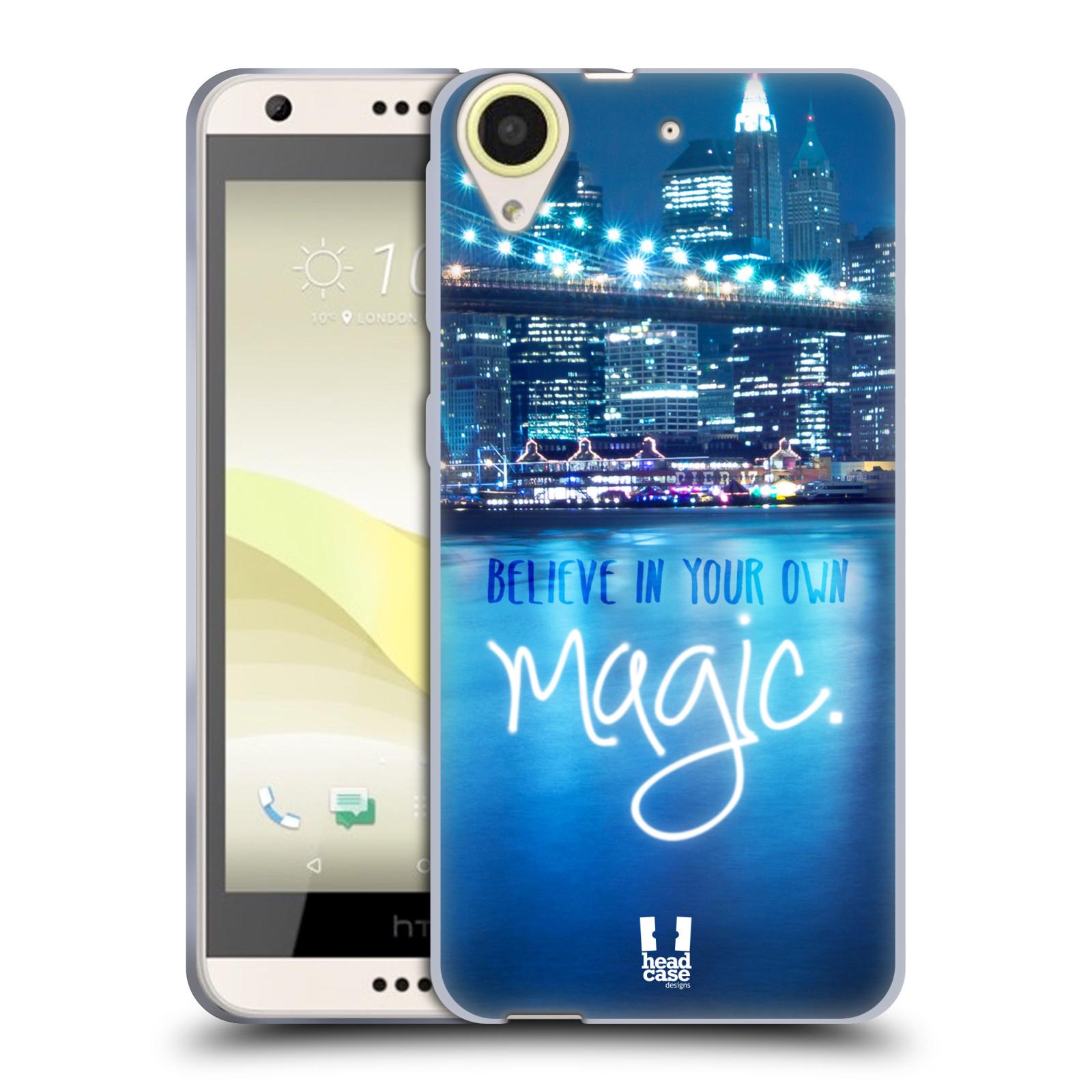Silikonové pouzdro na mobil HTC Desire 650 HEAD CASE MAGICAL (Silikonový kryt či obal na mobilní telefon HTC Desire 650)