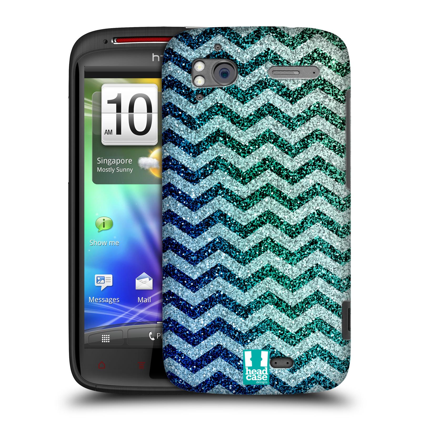 Plastové pouzdro na mobil HTC Sensation XE HEAD CASE MIX CHEVRON (Kryt či obal na mobilní telefon HTC Sensation XE)