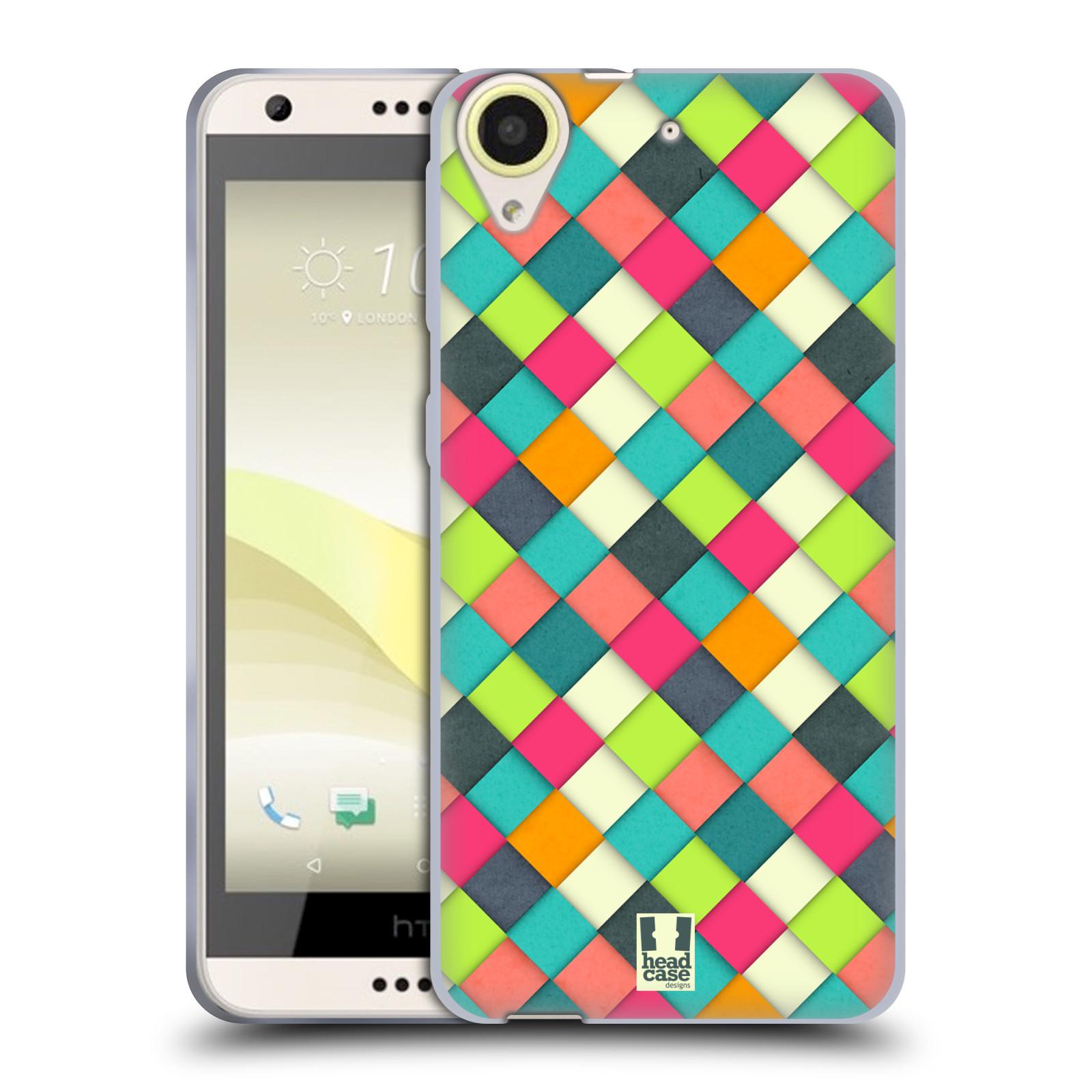 Silikonové pouzdro na mobil HTC Desire 650 HEAD CASE WOVEN (Silikonový kryt či obal na mobilní telefon HTC Desire 650)