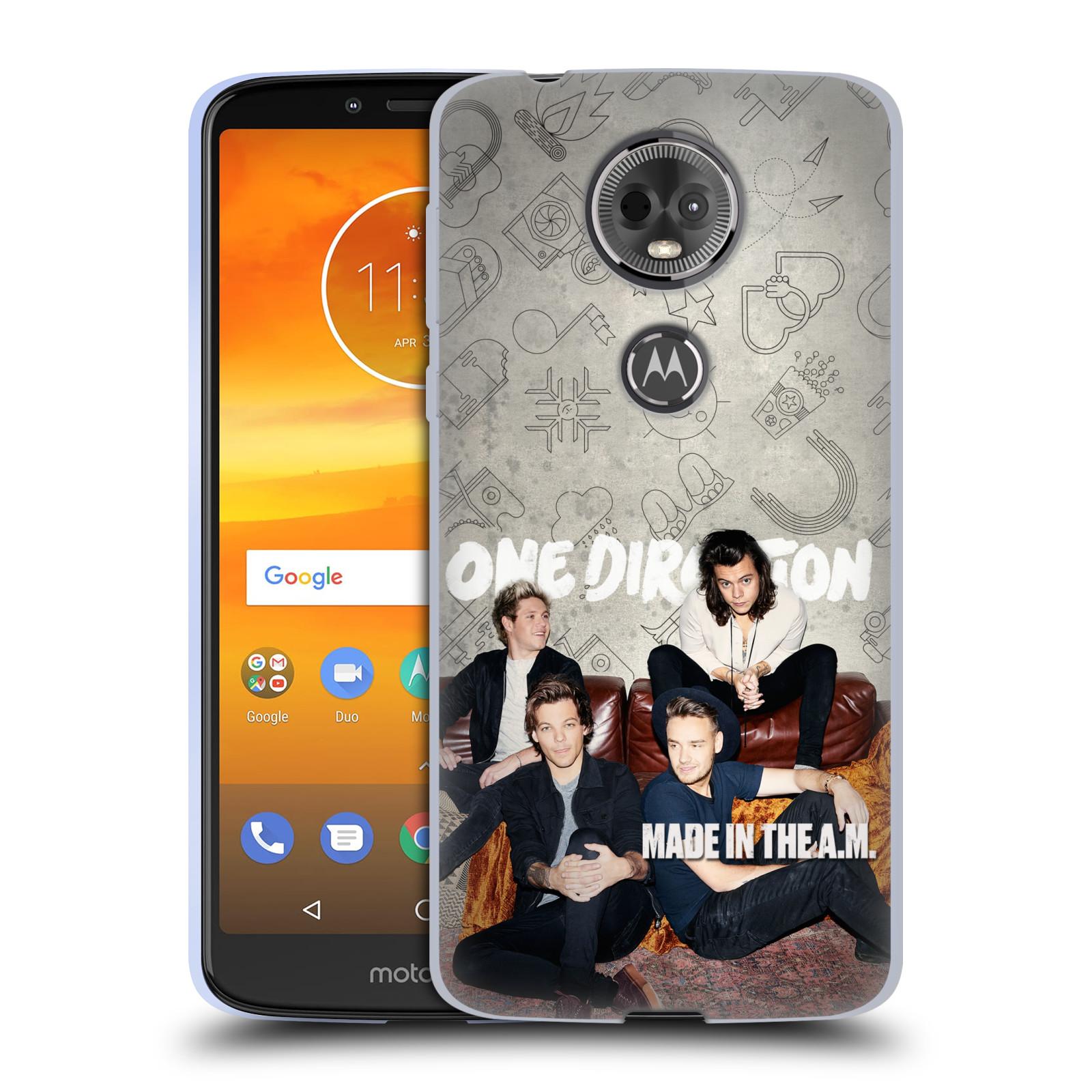 Silikonové pouzdro na mobil Motorola Moto E5 Plus - Head Case - One  Direction - Na Gaučíku bf7112ddacf