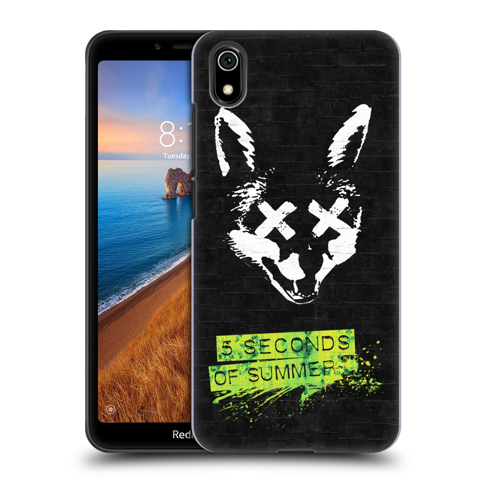 Plastové pouzdro na mobil Xiaomi Redmi 7A - Head Case - 5 Seconds of Summer - Fox
