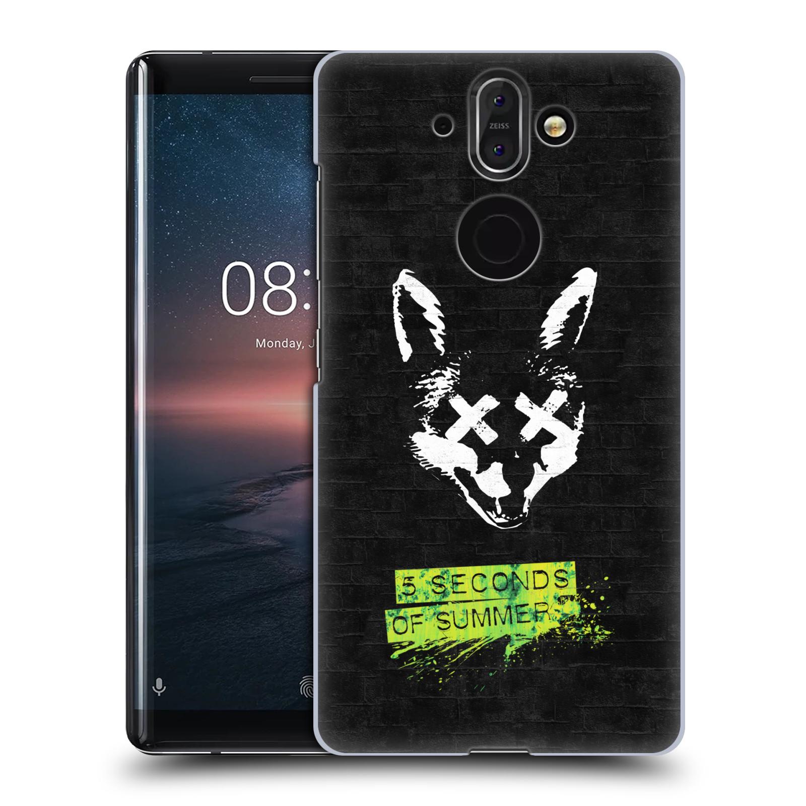 Plastové pouzdro na mobil Nokia 8 Sirocco - Head Case - 5 Seconds of Summer - Fox