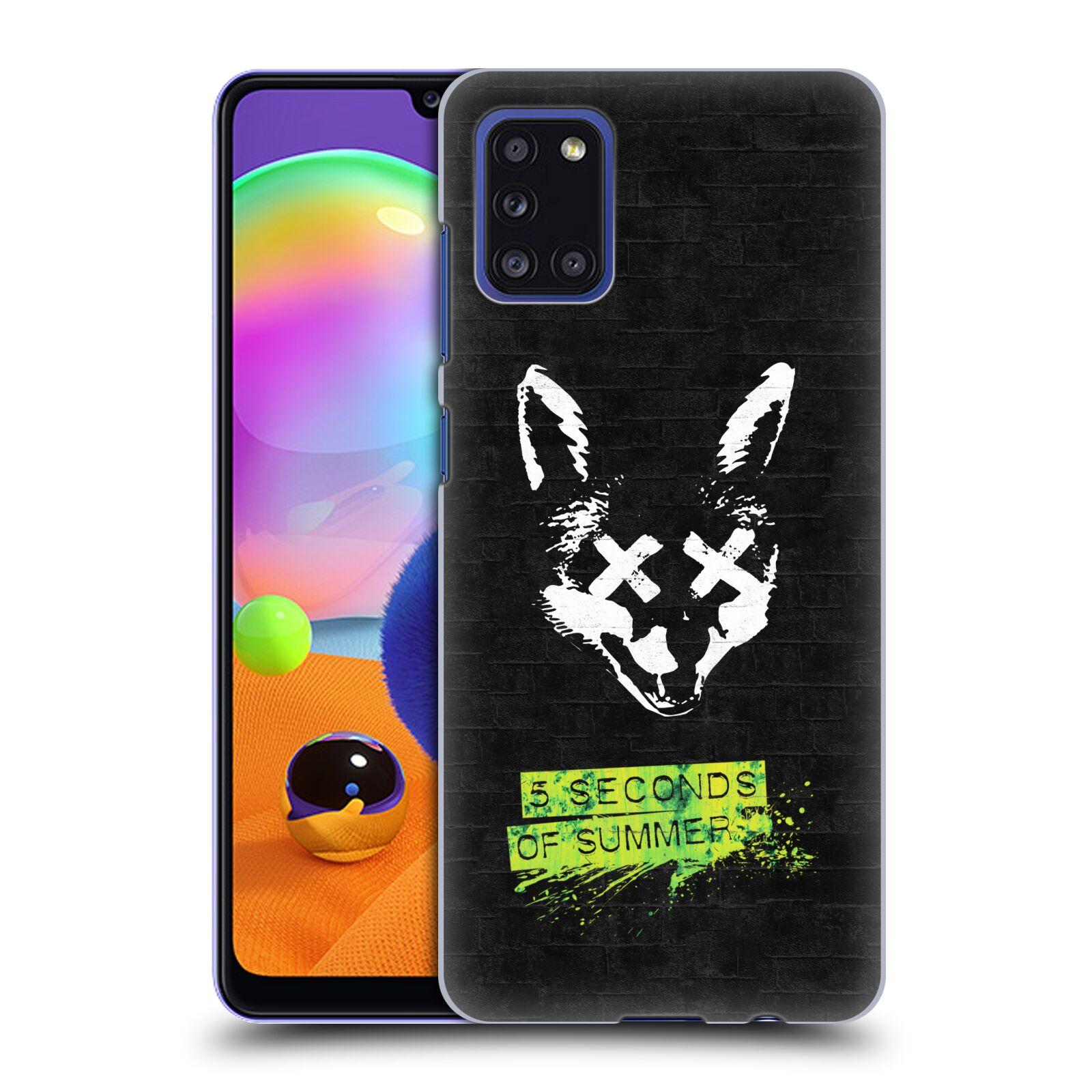 Plastové pouzdro na mobil Samsung Galaxy A31 - Head Case - 5 Seconds of Summer - Fox