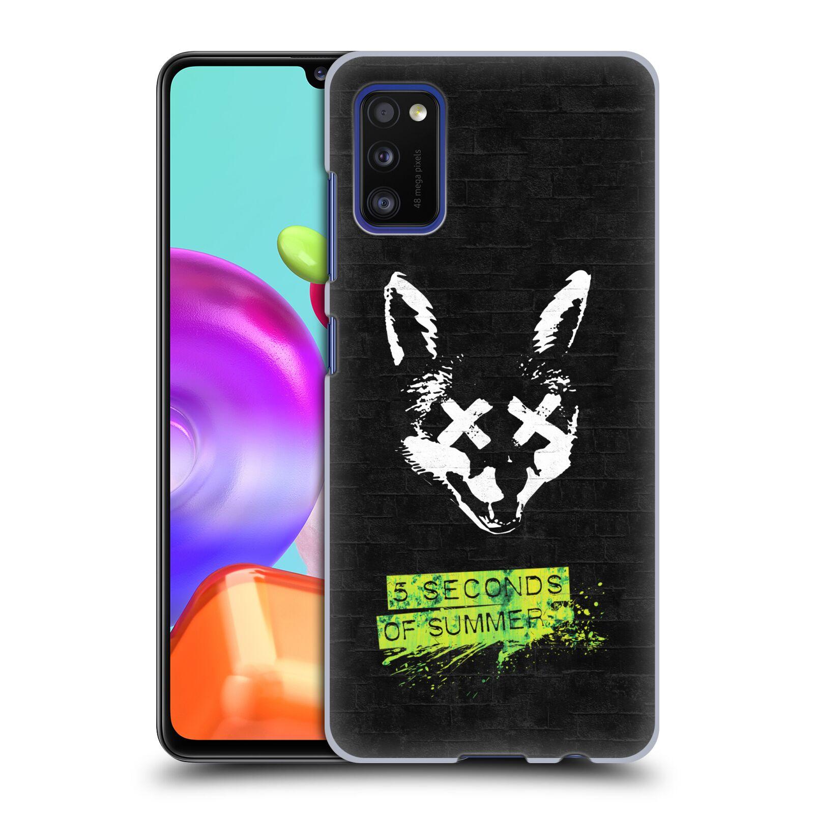 Plastové pouzdro na mobil Samsung Galaxy A41 - Head Case - 5 Seconds of Summer - Fox